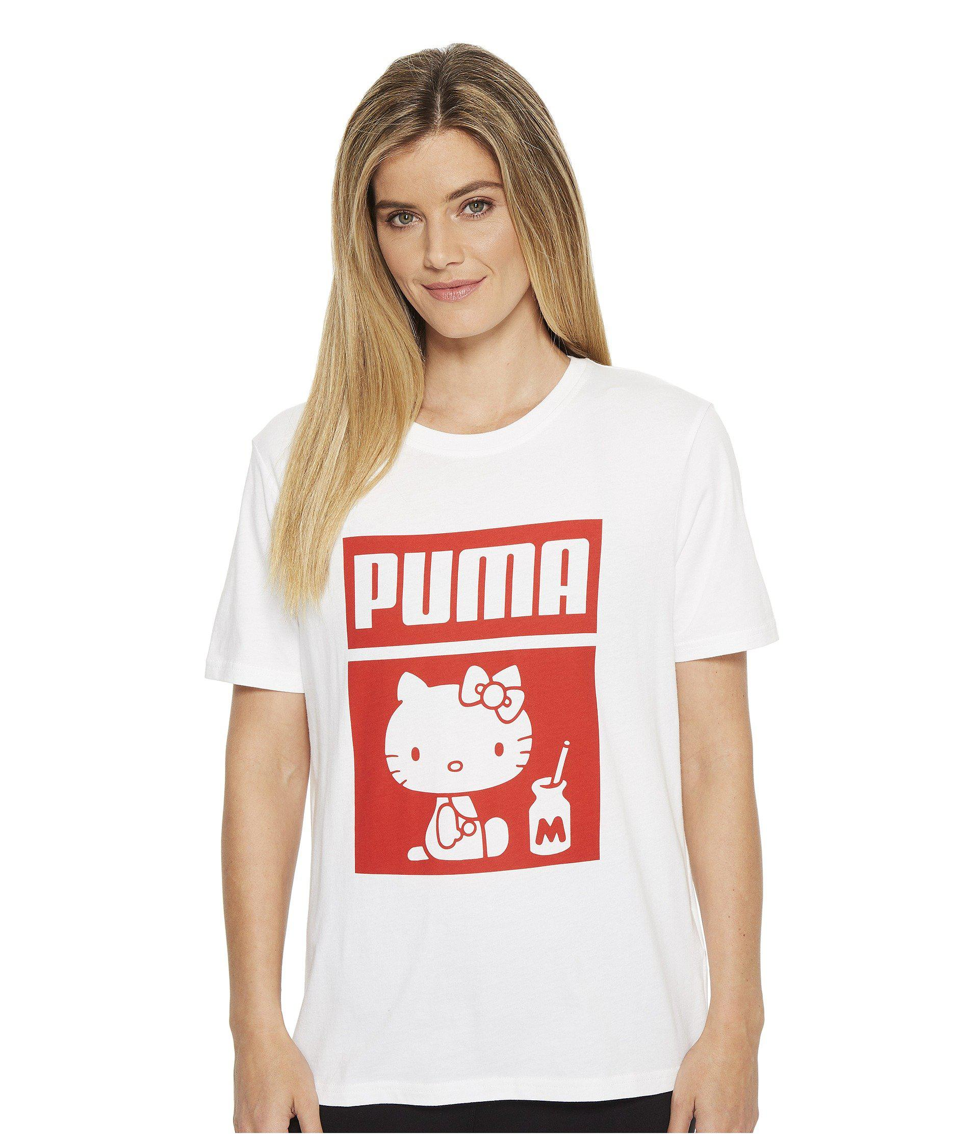 Tee White Puma Hello X Kitty F1cTK3ulJ