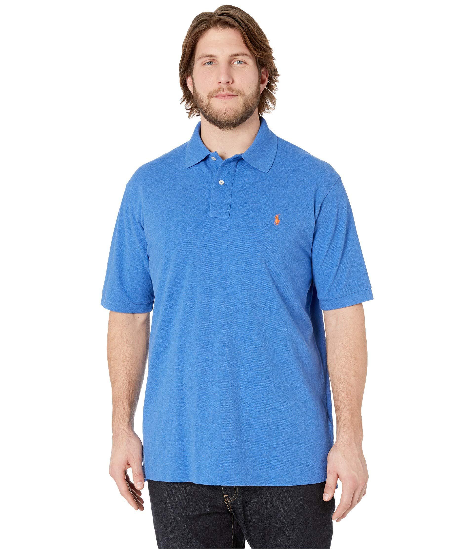 5621ec23f5d7 Polo Ralph Lauren Big Tall Basic Mesh Short Sleeve Custom Slim Fit ...