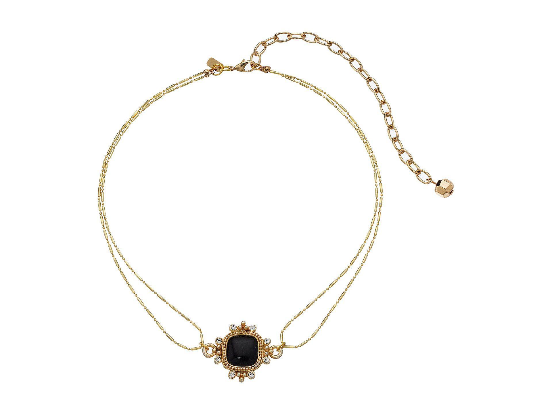 178d9b6b49b Vanessa Mooney The Saint Andrea Choker Necklace in Metallic - Lyst