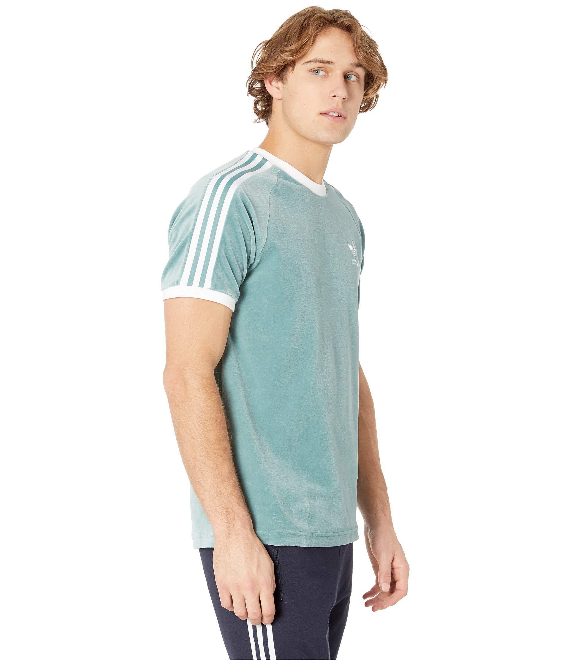a4ff15df adidas Originals Cozy Tee (vapour Steel) Men's T Shirt in Blue for ...