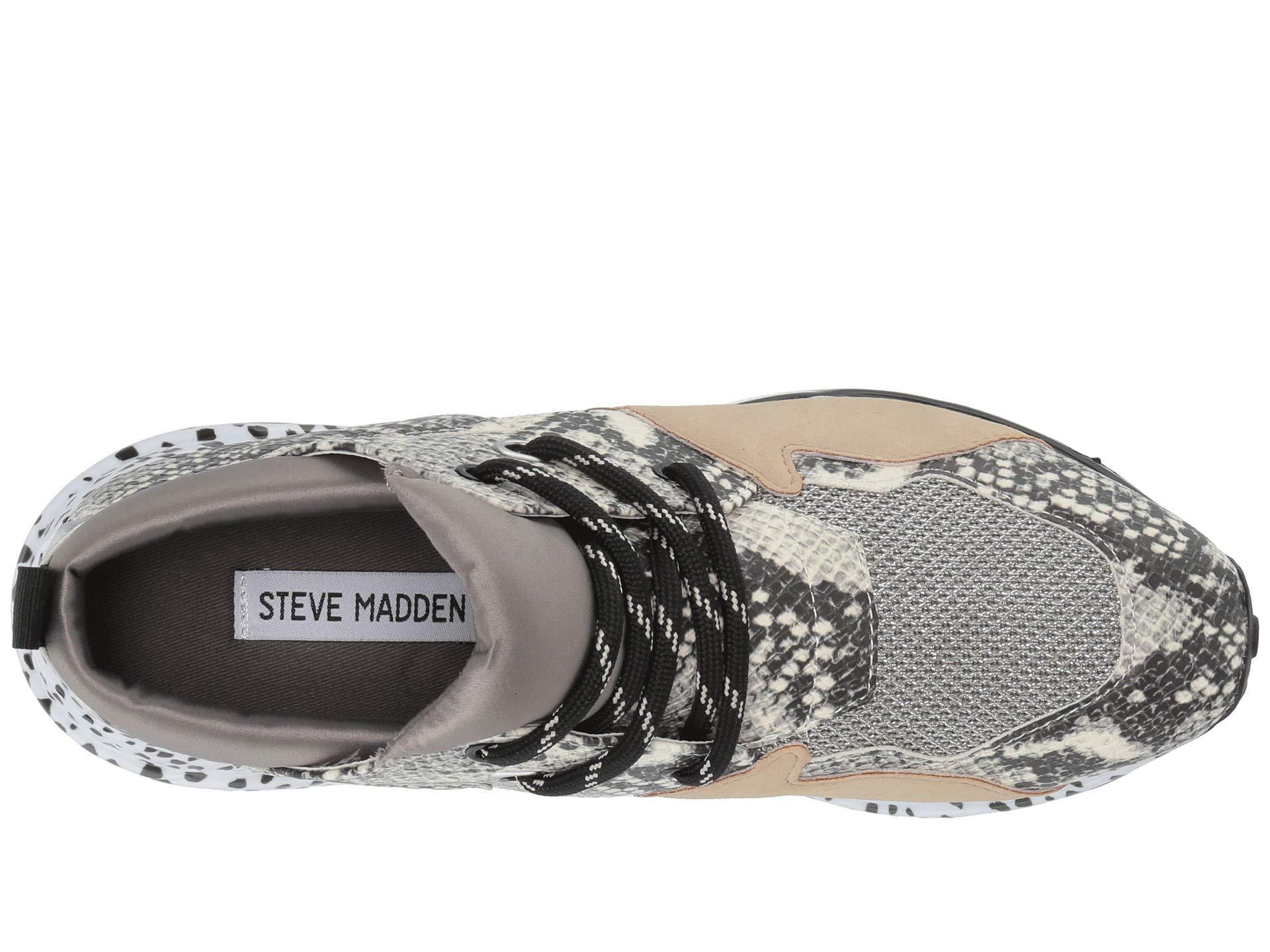 Steve Madden Leather Cliff Sneaker
