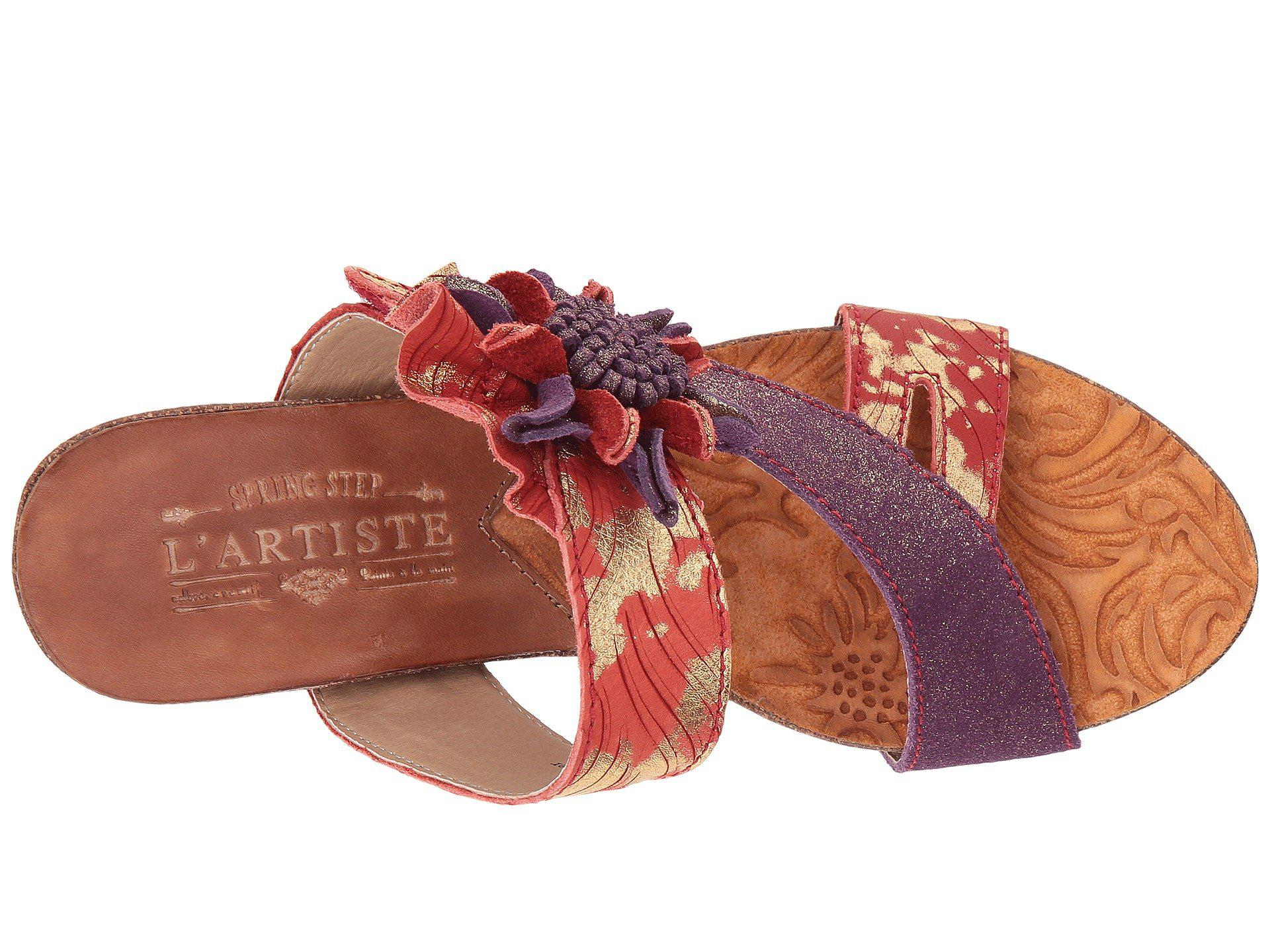 49c4d6a557d Spring Step - Metallic Myah (black Multi) Women s Shoes - Lyst. View  fullscreen