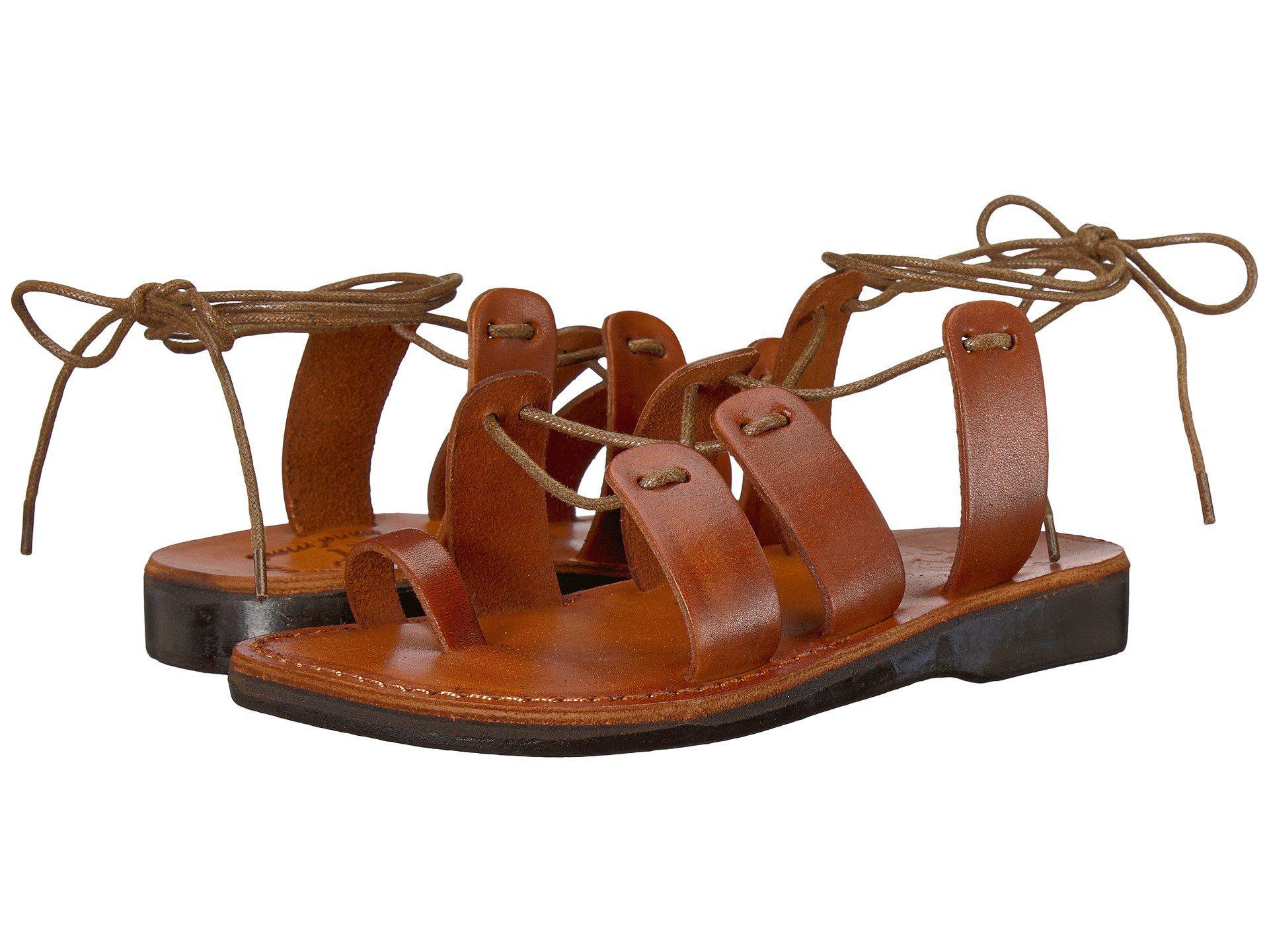 401e9eec53b88 Lyst - Jerusalem Sandals Deborah (honey) Women s Sandals in Brown