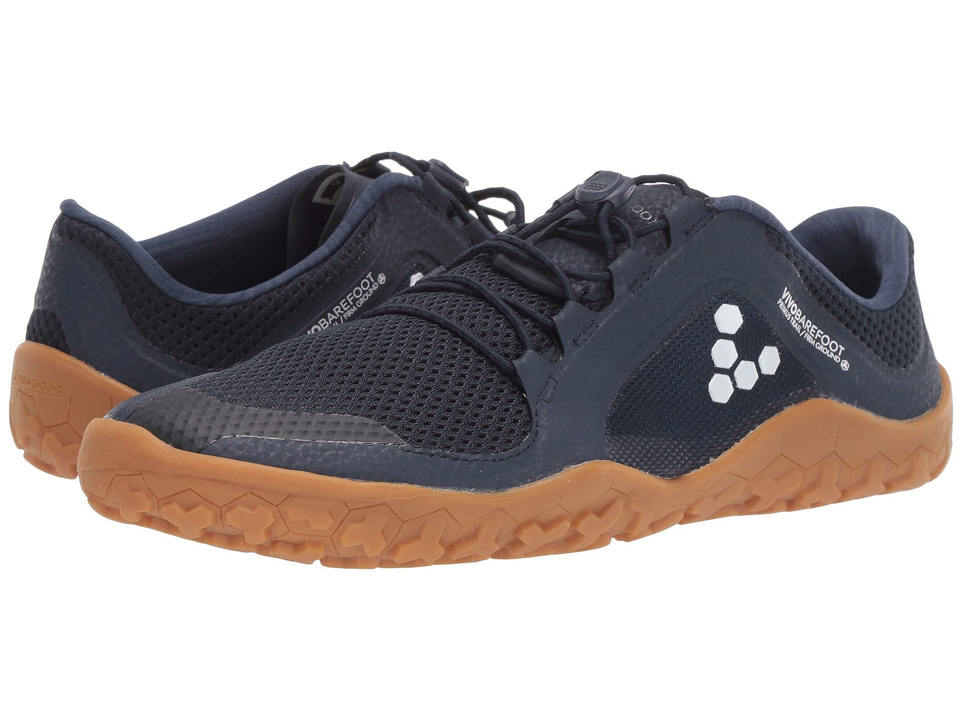 ff68366aa9c ... lyst vivobarefoot primus trail fg mesh indigo women s shoes in blue ...