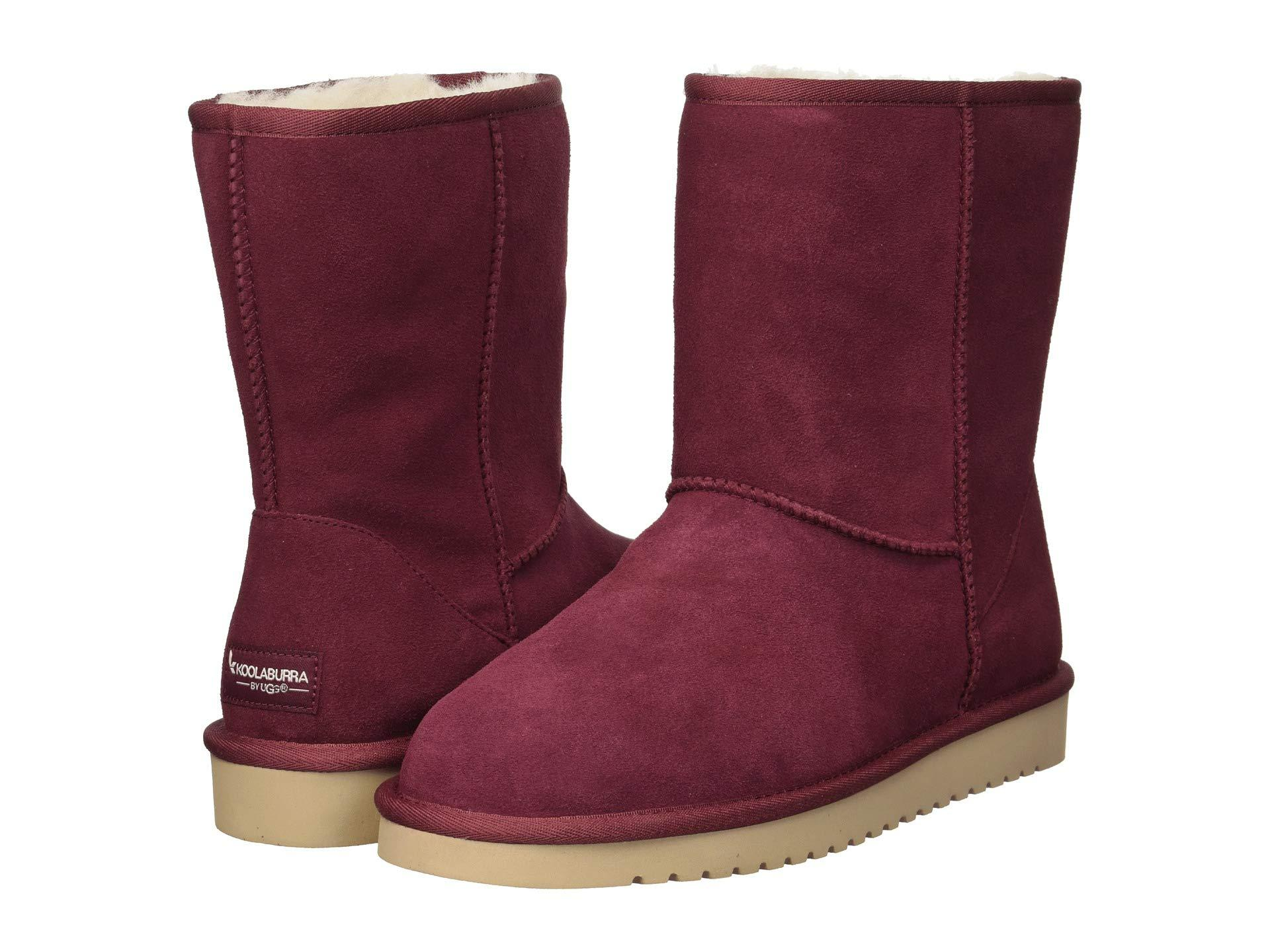 7dbd5e9f6af Lyst - UGG Koola Short (chestnut) Women's Boots