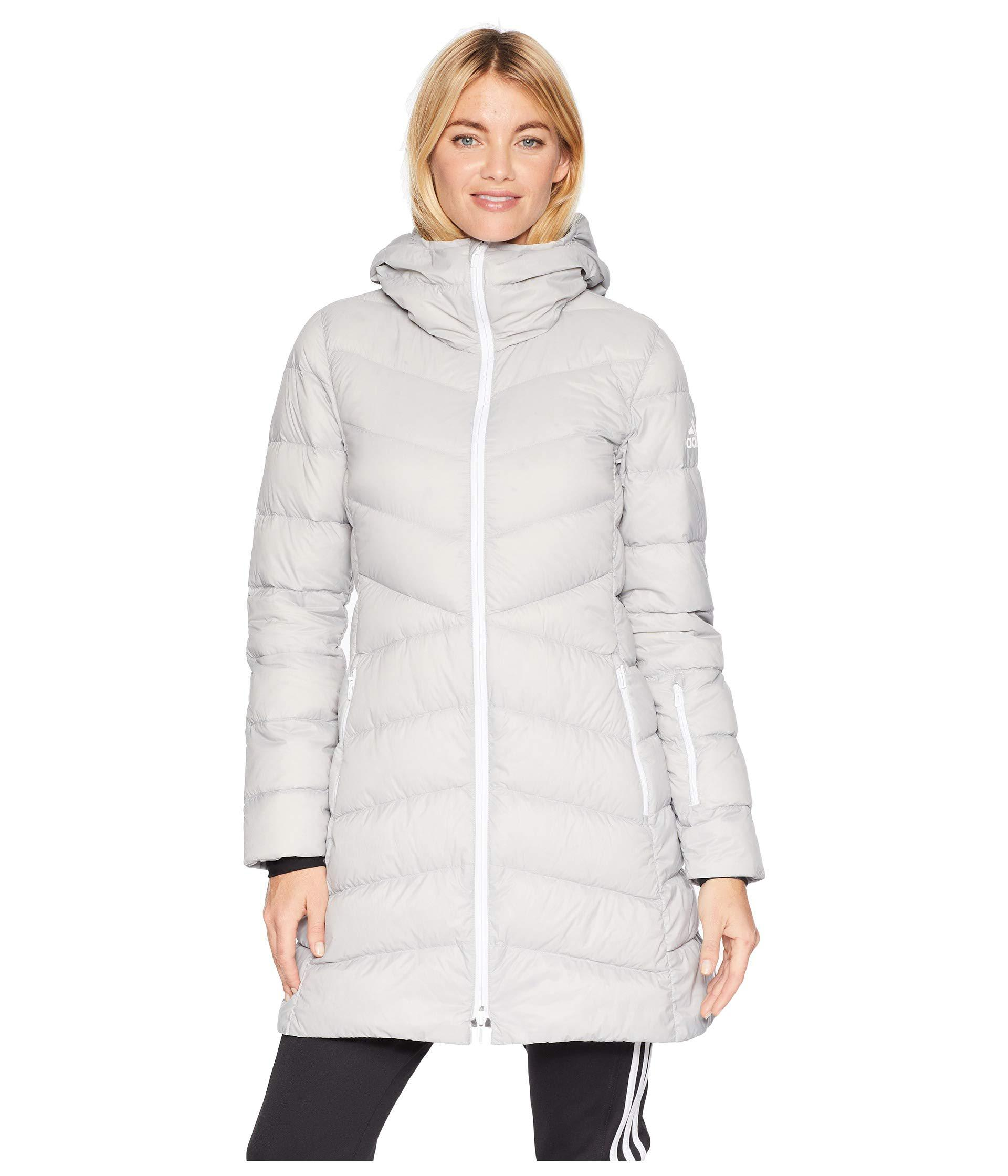 adidas Originals. Gray Climawarm(r) Hyperdry Nuvic Jacket (grey Two) Women s  Coat 745ade914f