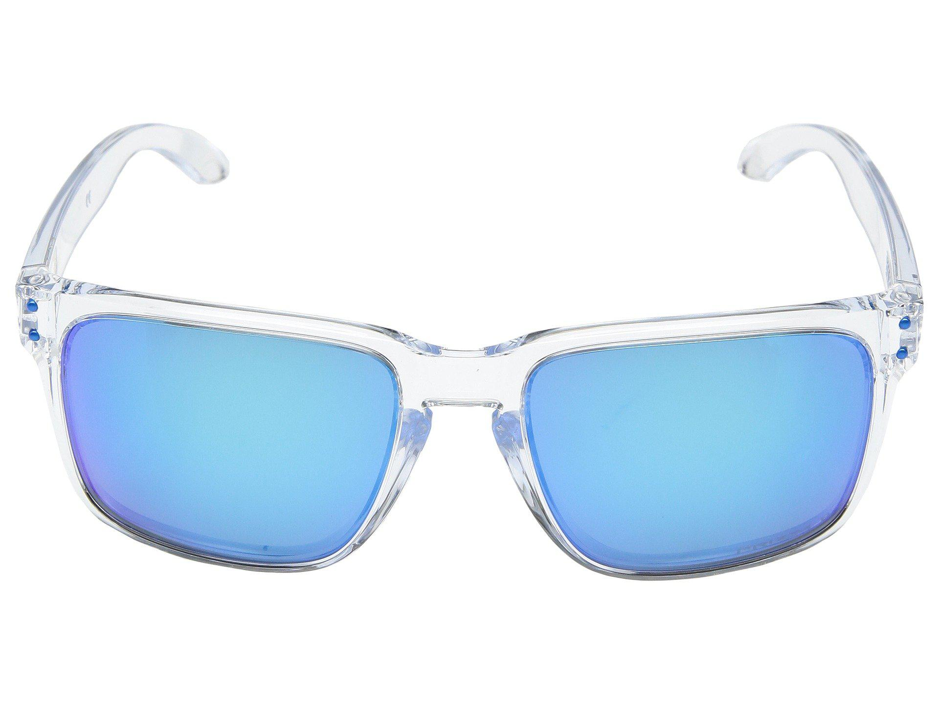 5a583a804abd Oakley Holbrook Xl Sgh Exclusive (polished Clear W/ Prizm Sapphire ...