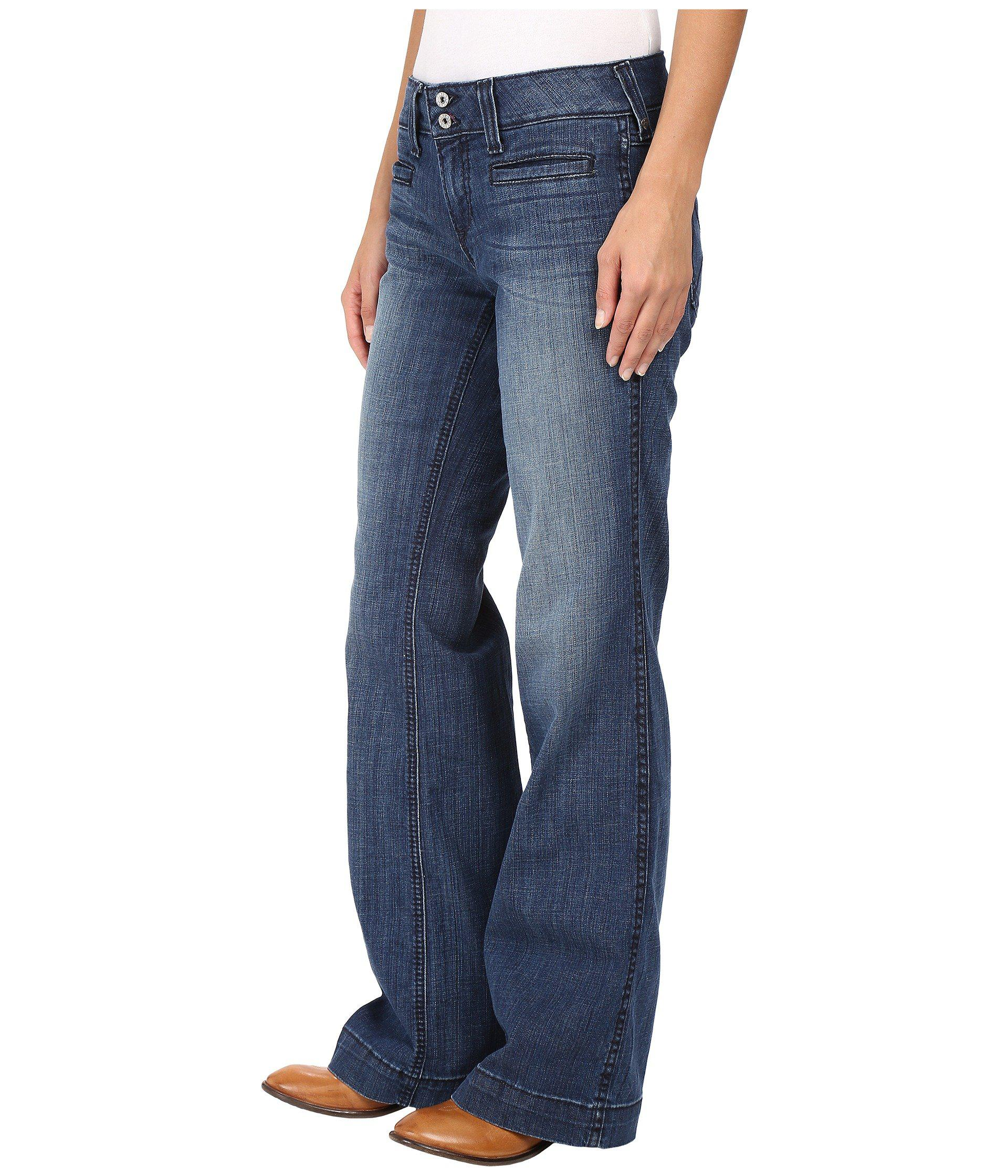 e0273bc7a4fe Ariat Trouser Ella Jeans In Bluebell (bluebell) Women's Jeans in ...
