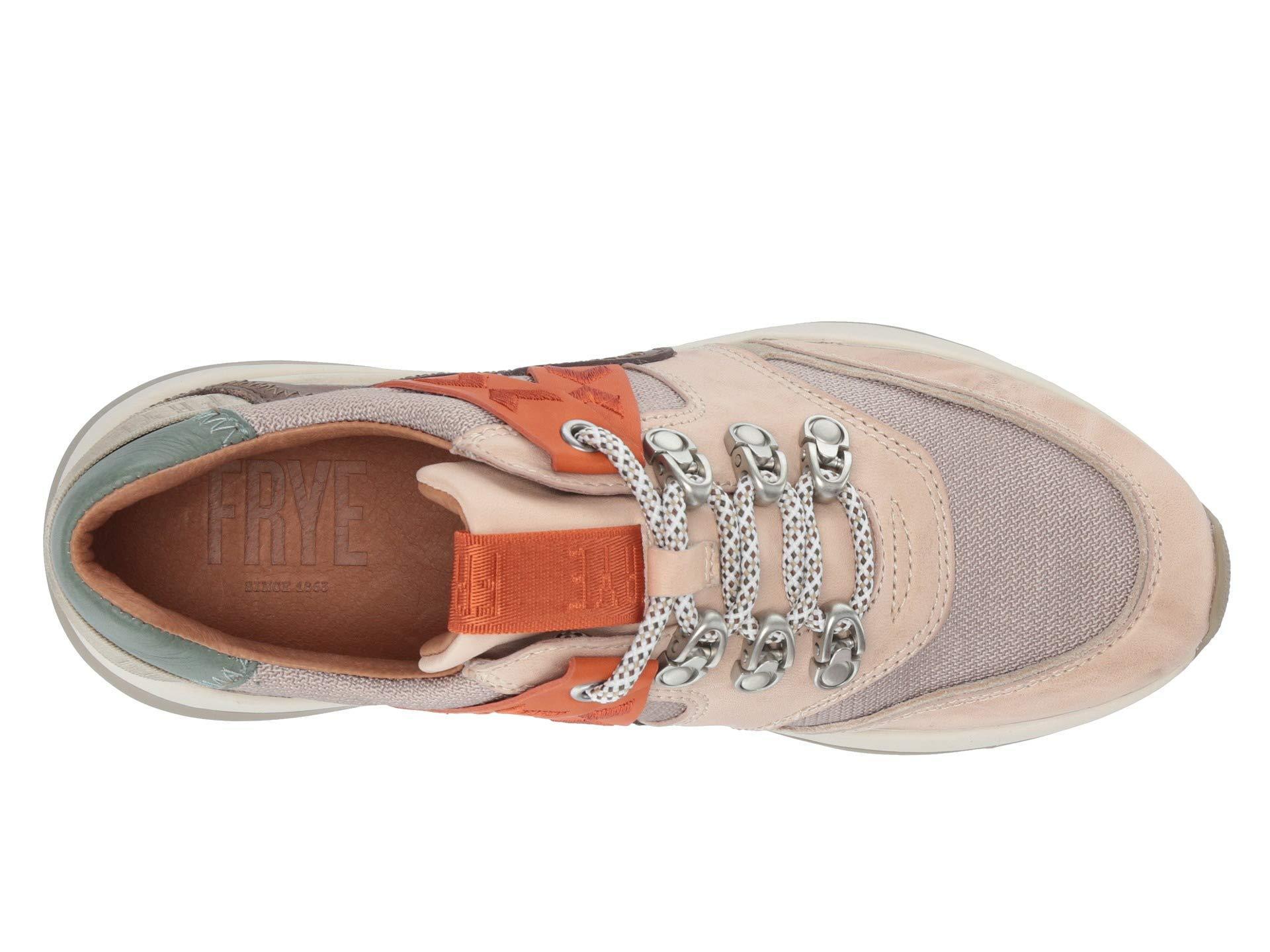 Frye Willow Trek Low Sneaker Cream