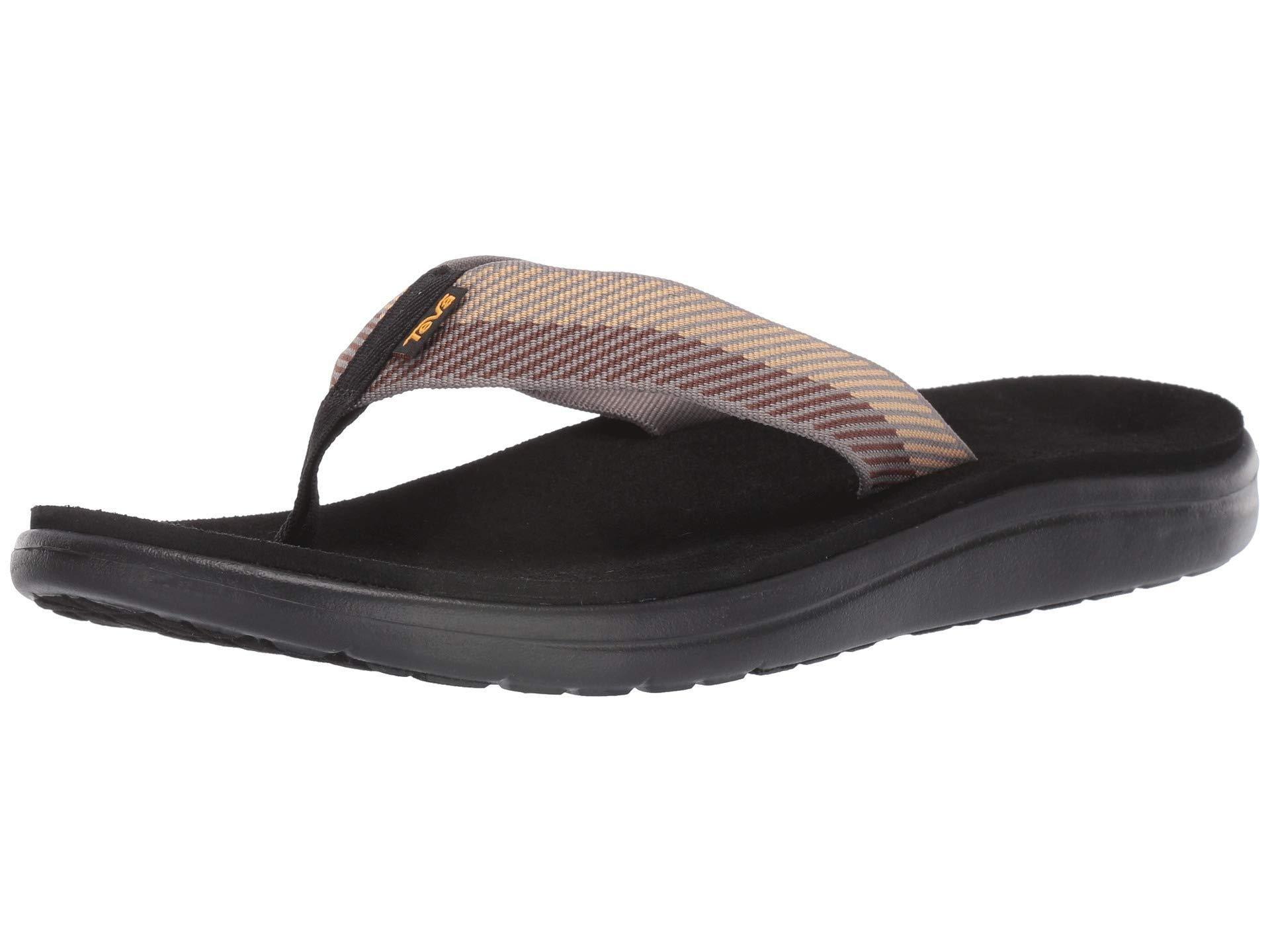 29e6ab5b56af Teva - Voya Flip (brick Black) Men s Sandals for Men - Lyst. View fullscreen