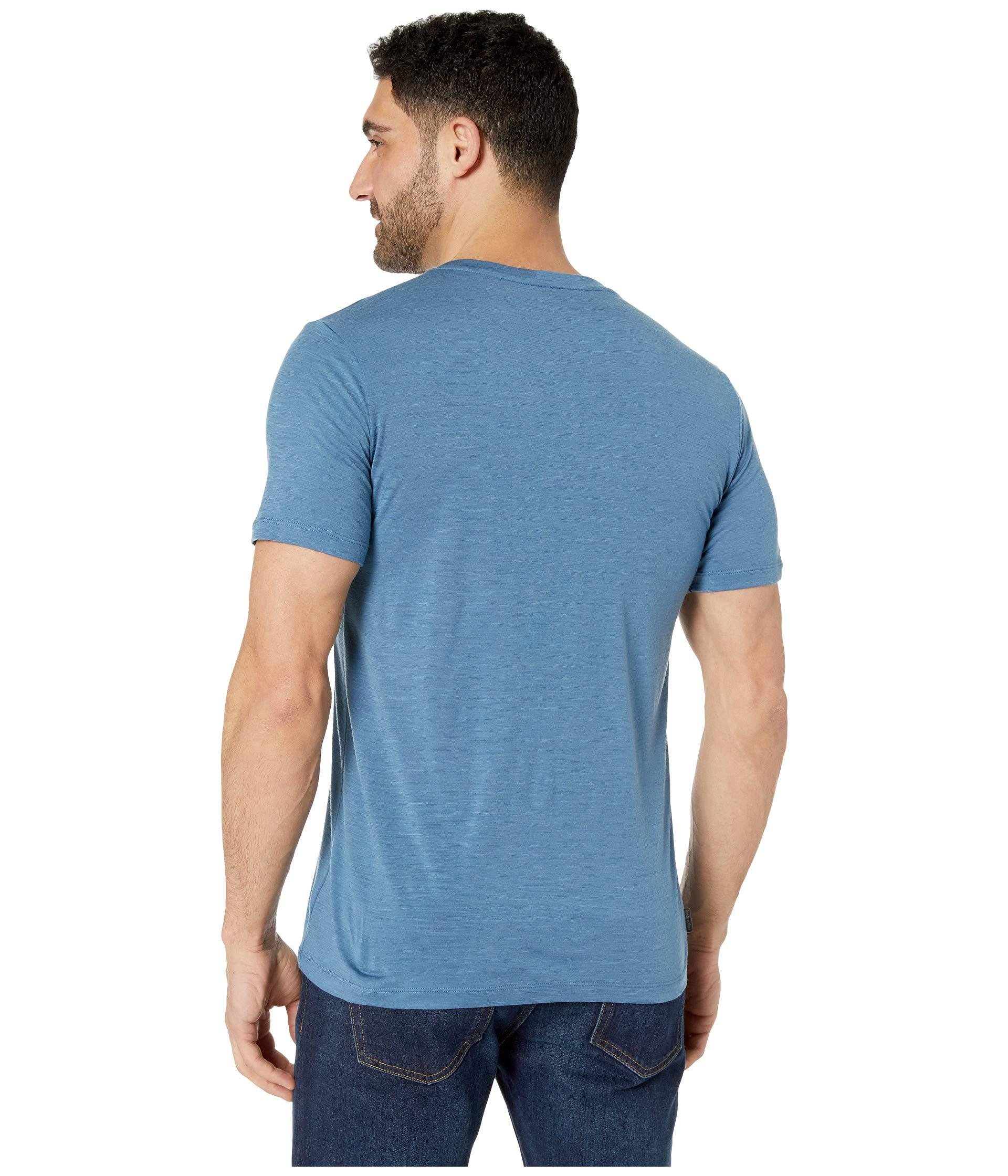 Icebreaker Tech Lite SS Crewe Cook by Night T-Shirt Homme