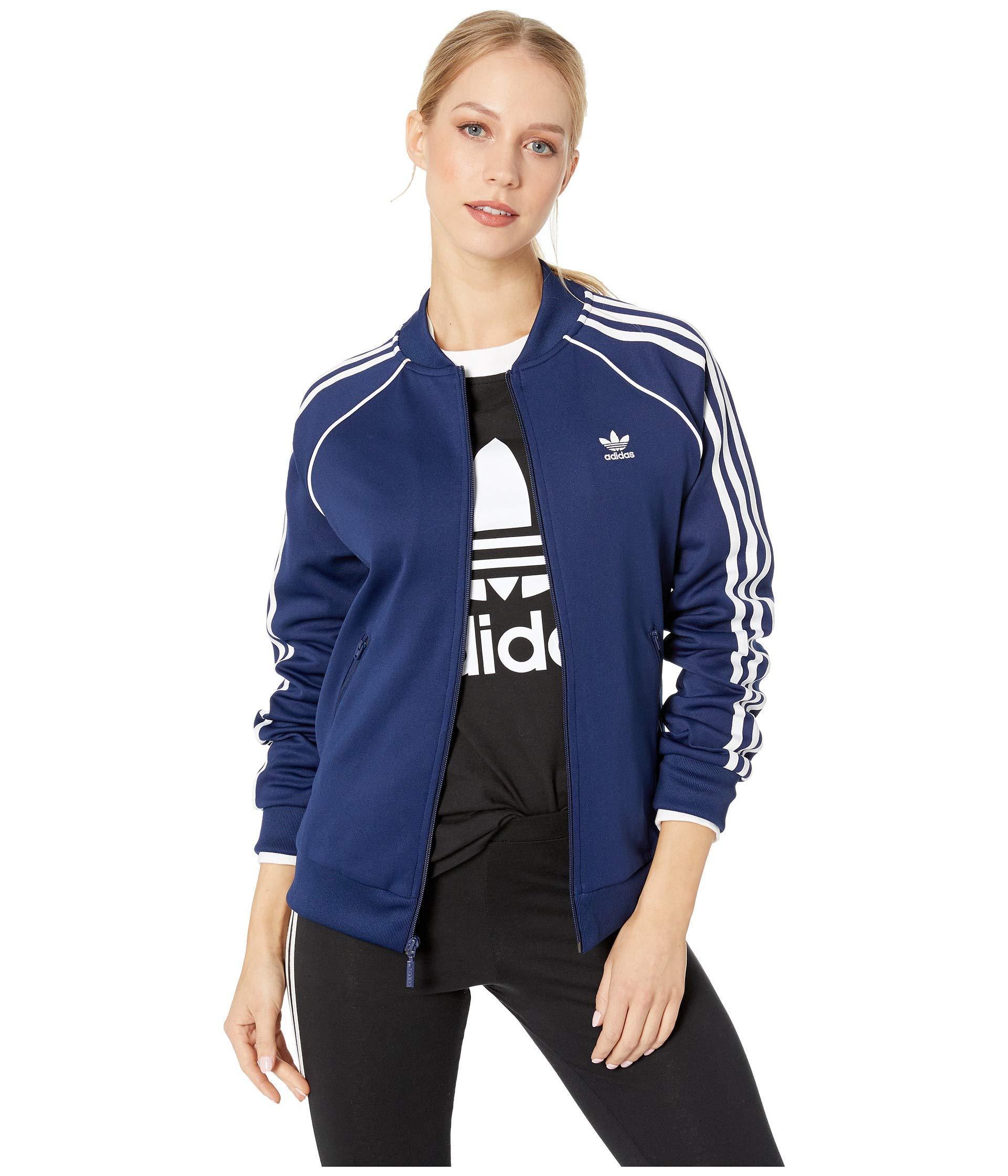 b2acda22b3b2 adidas Originals. Blue Superstar Track Jacket (multicolor 2) Women s Coat