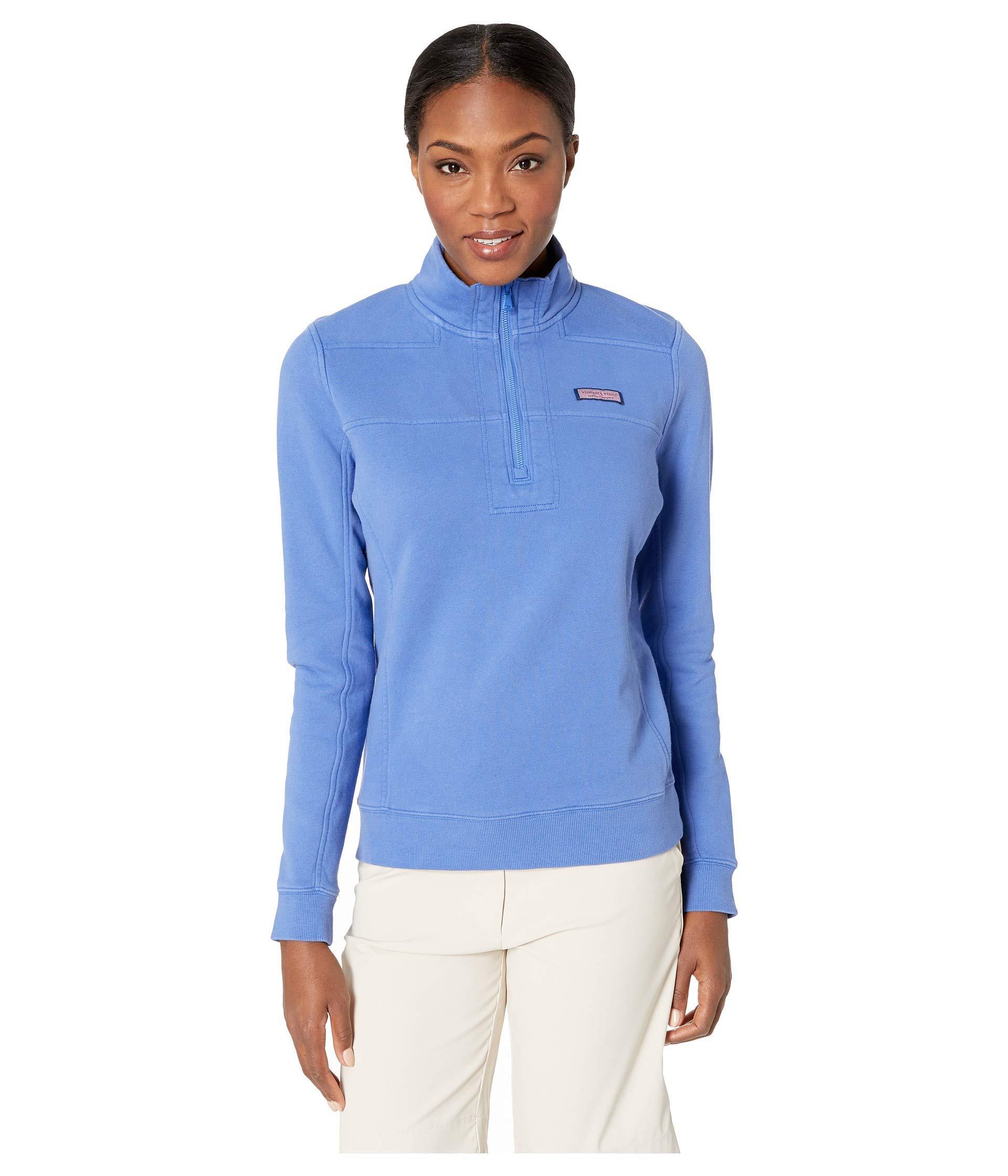 d44ab28ca4fb7 Lyst - Vineyard Vines Garment Dyed Shep Pullover (marlin) Women s ...