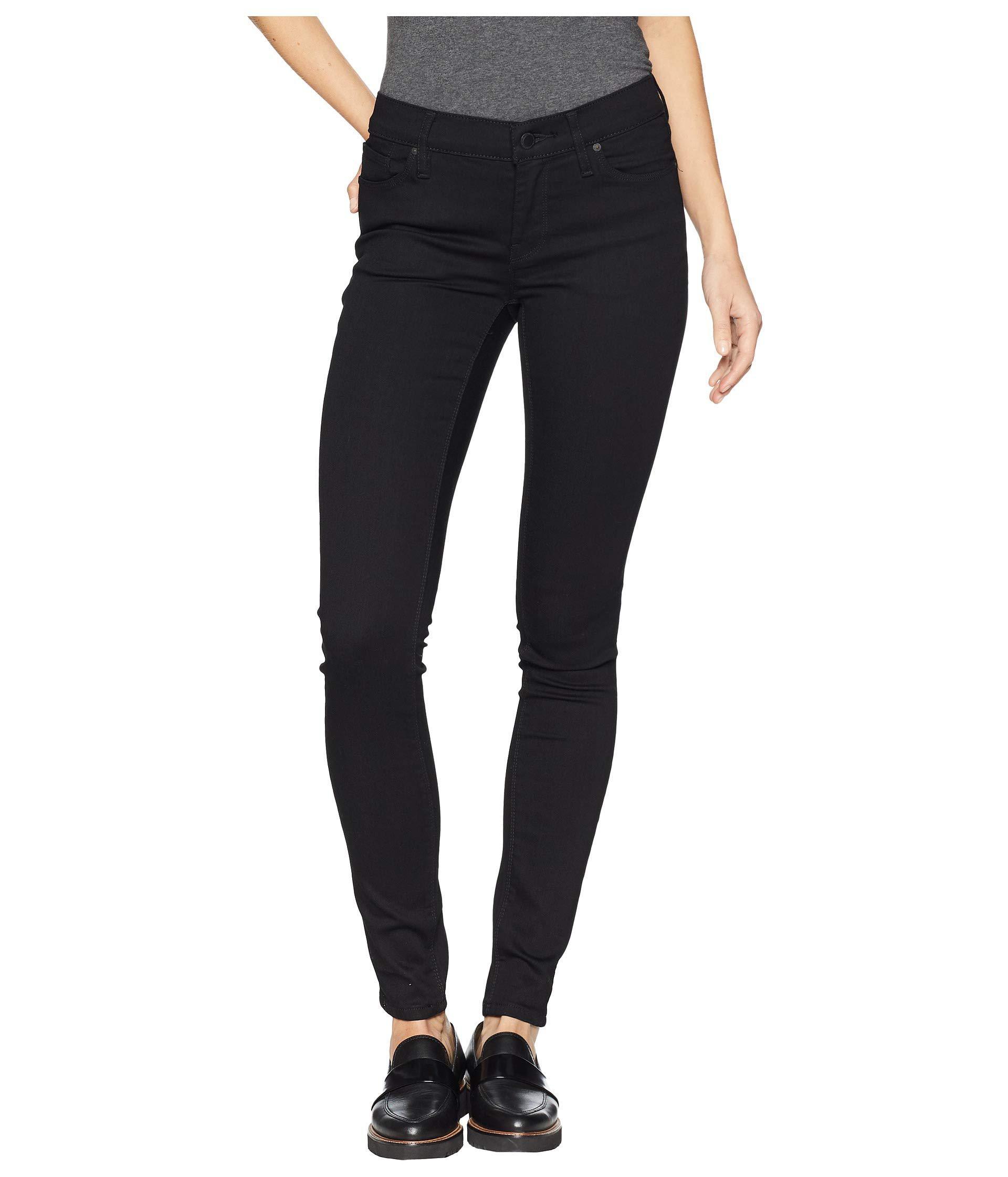 013f0da43fc Lyst - Hudson Jeans Krista Super Skinny Jeans In Black (black ...