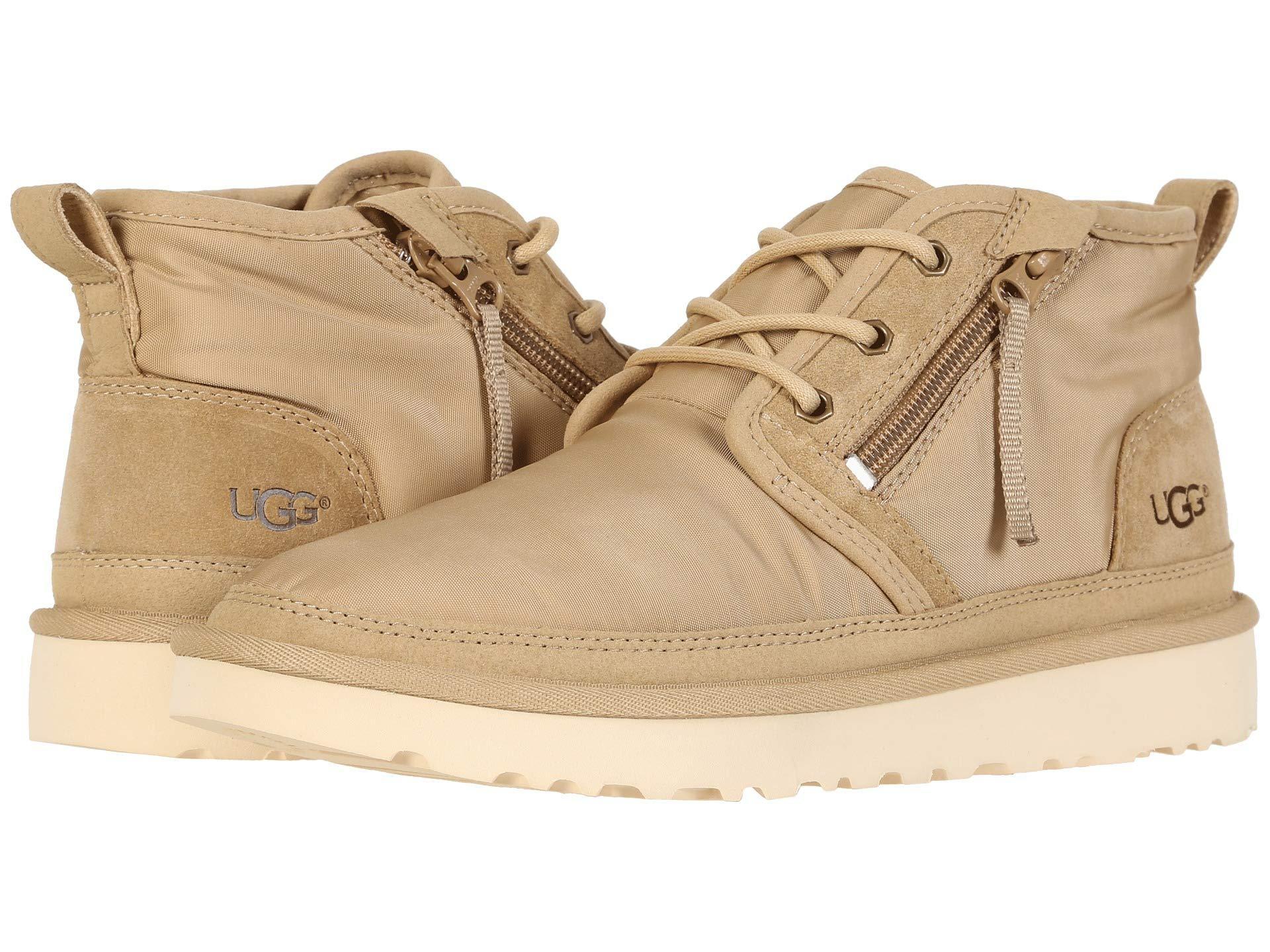 72f942053d8 Ugg Natural Neumel Zip Mlt (vaporous Gray) Men's Shoes for men