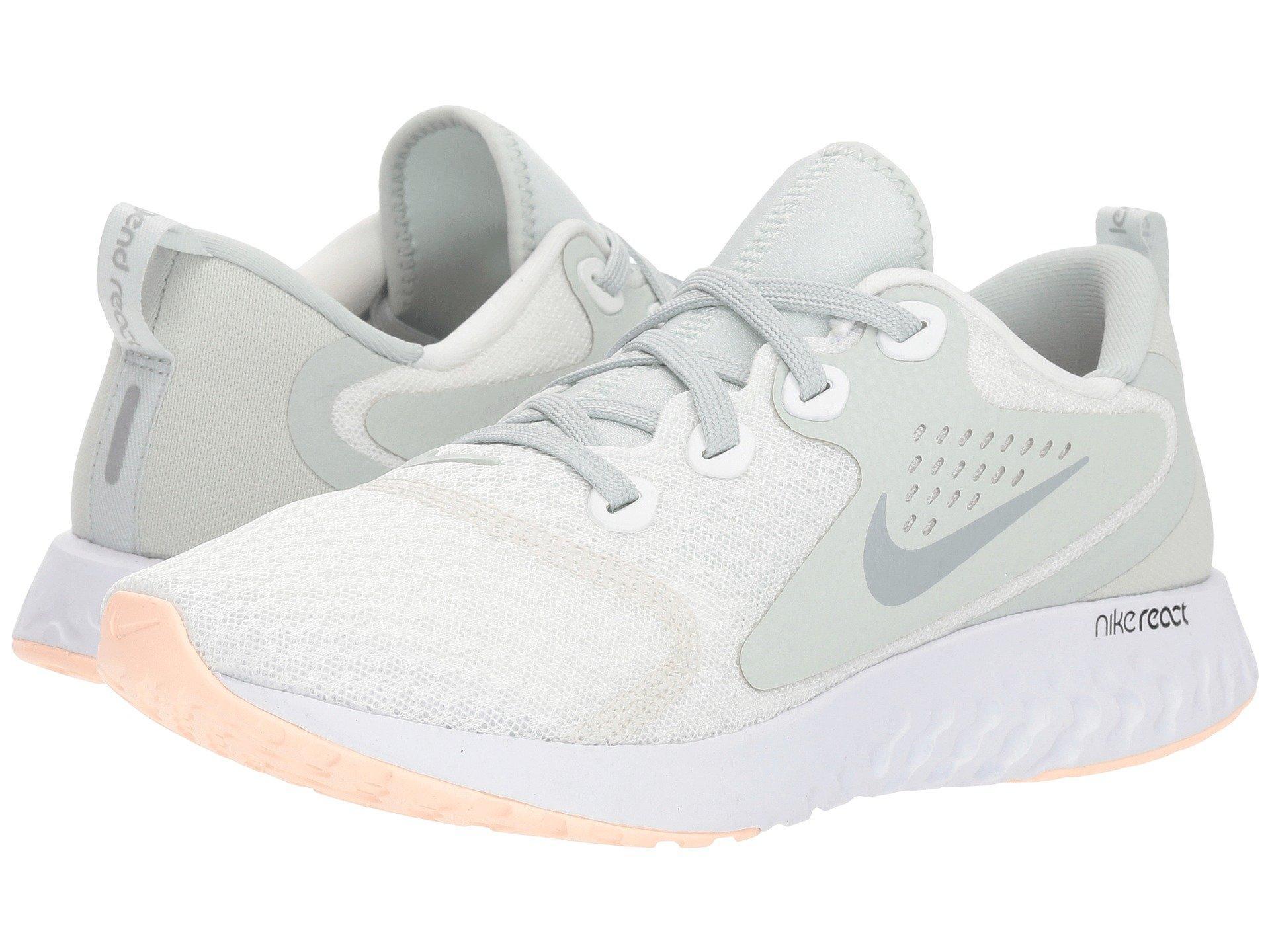 08ac78a0ae479 Nike Legend React (black/white/white) Women's Running Shoes in White ...