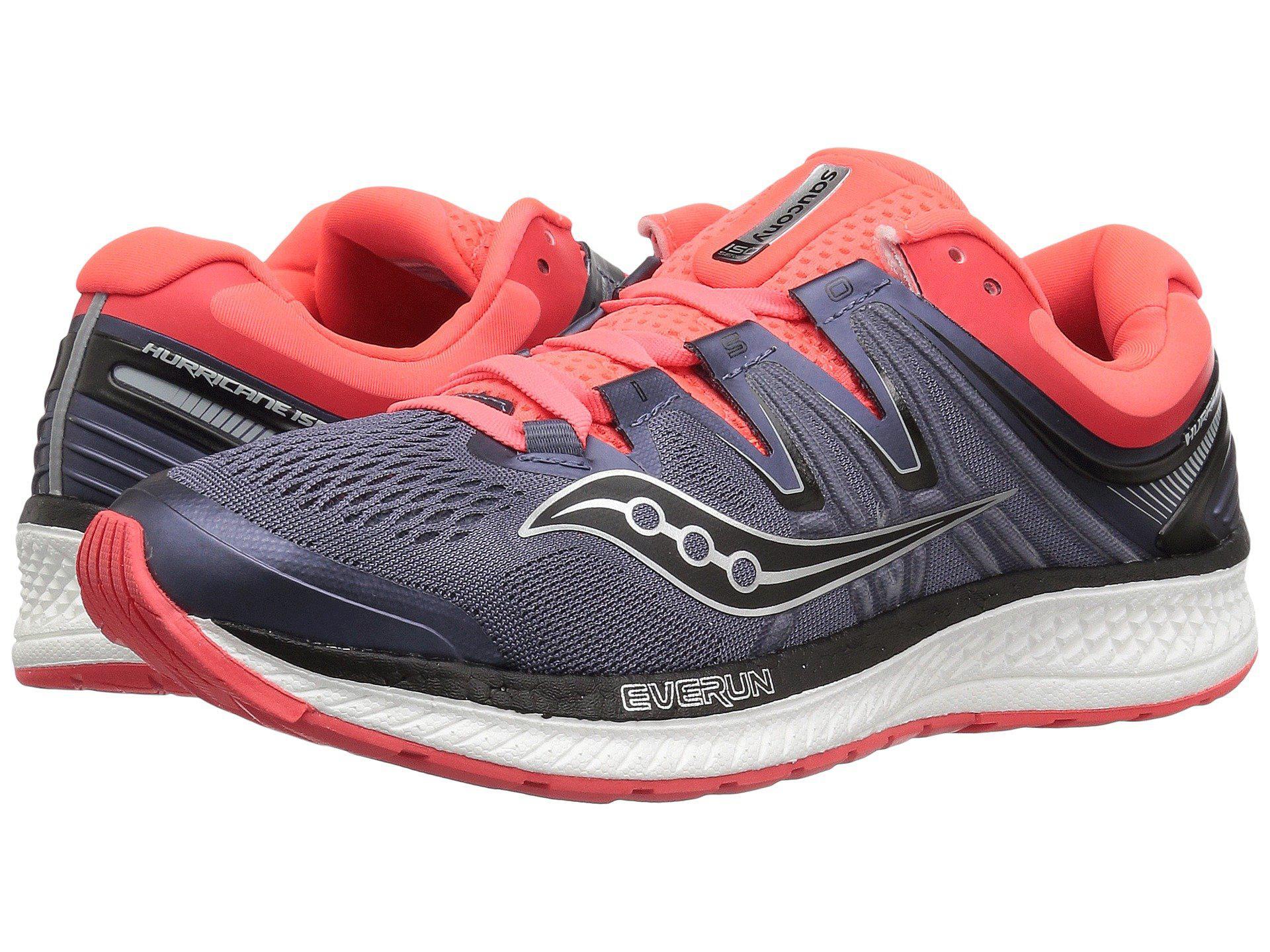 Saucony OMNI ISO - Stabilty running shoes - black/grey/vizired eSVxH1WF3v
