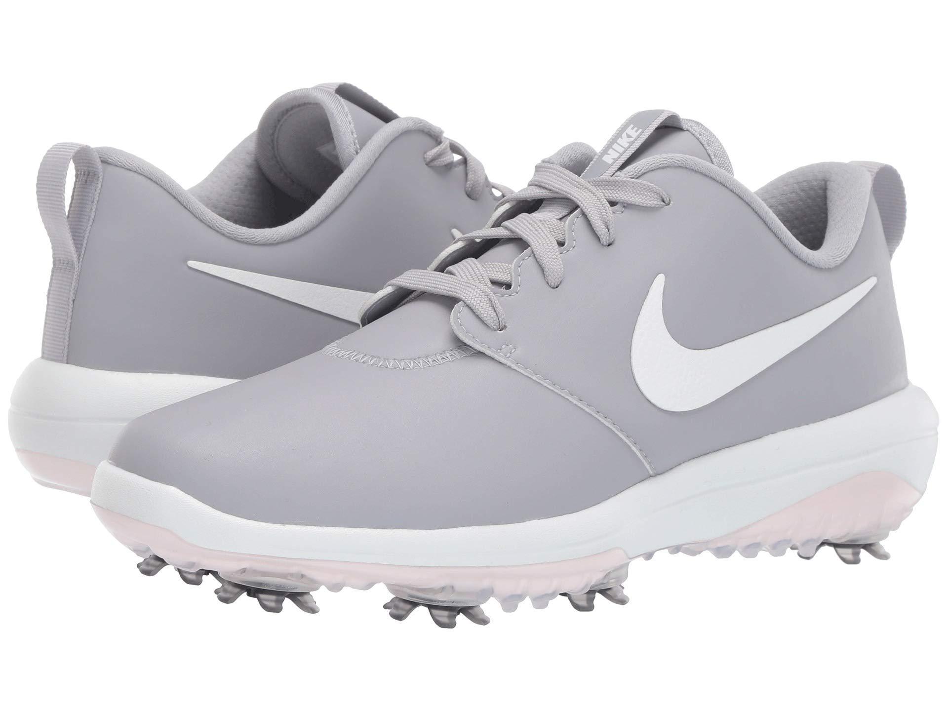 99674a9f6fe7 Nike Roshe G Tour (wolf Grey metallic White white) Women s Golf ...