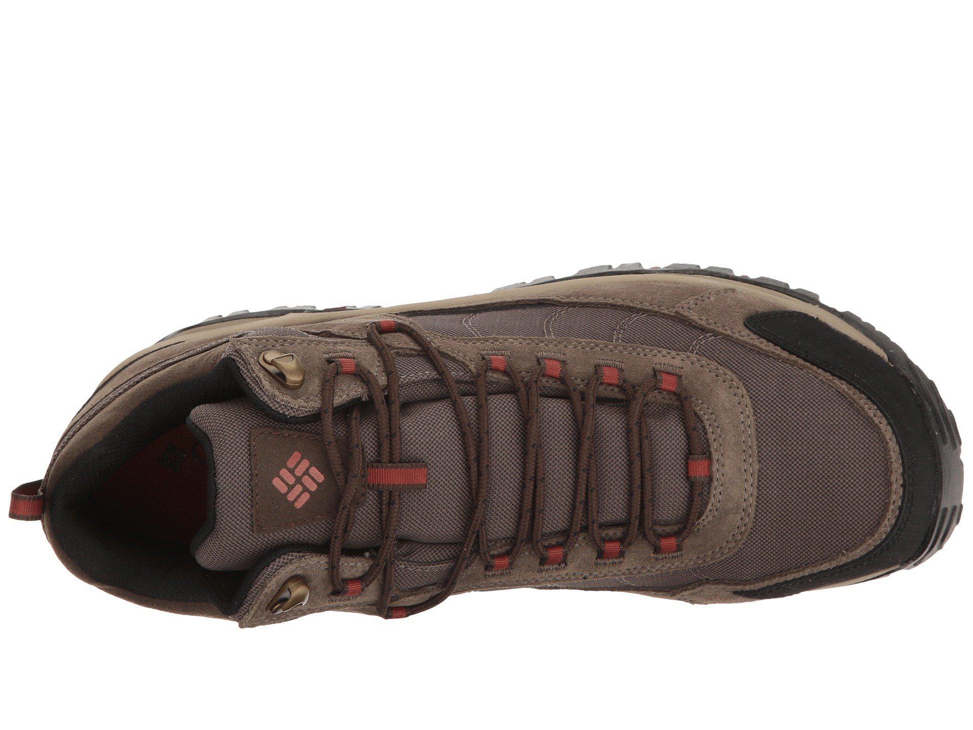 92f05072533b Columbia - Brown Granite Ridge Mid Waterproof (dark Grey golden Yellow)  Men s Shoes. View fullscreen