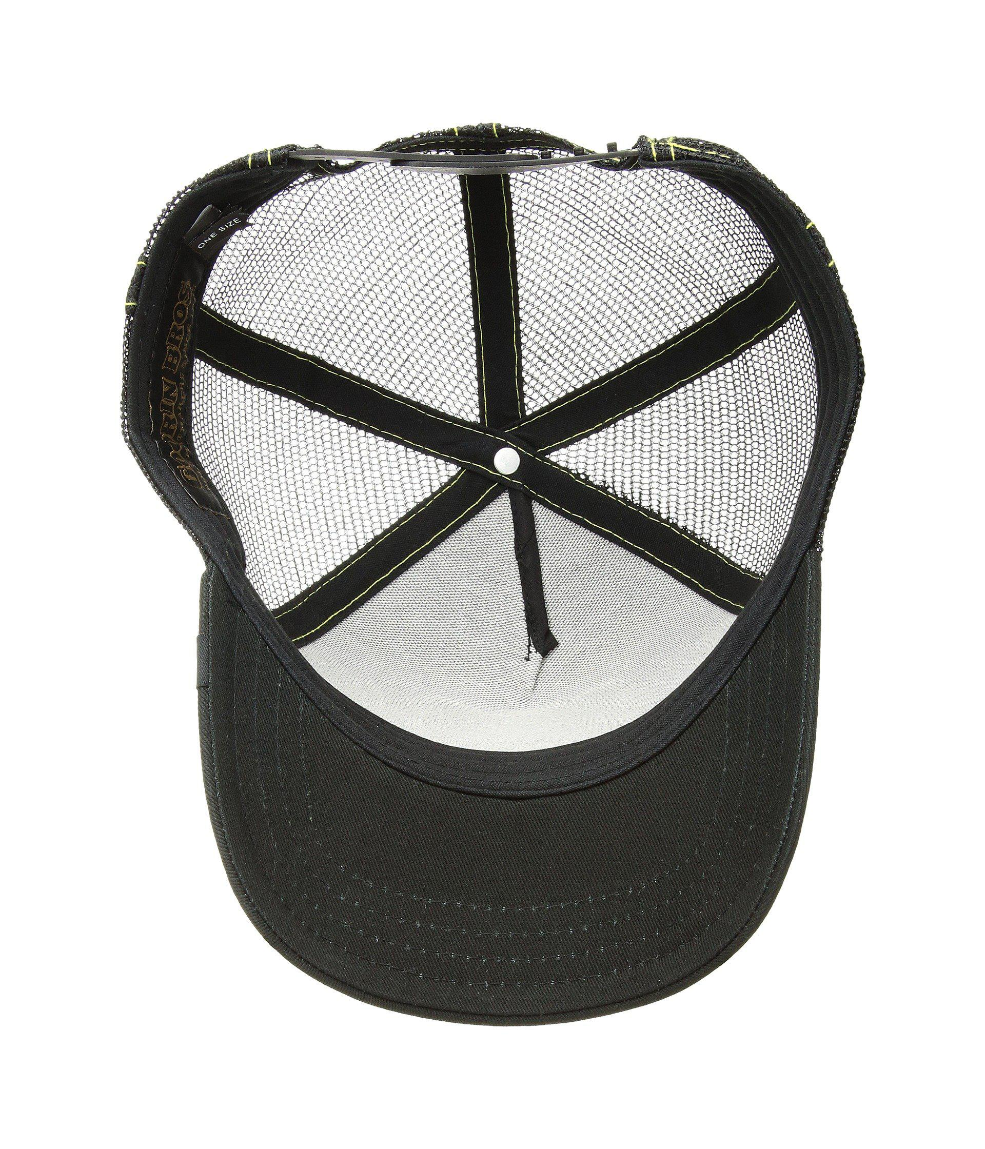 89a10b3a77137 Goorin Bros - Black Animal Farm Snap Back Trucker Hat (brown Beaver) Caps  for. View fullscreen