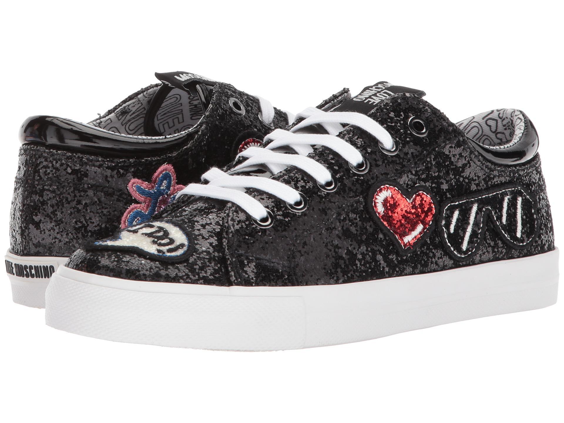 LOVE MoschinoSneaker w/ Patches EpspJI