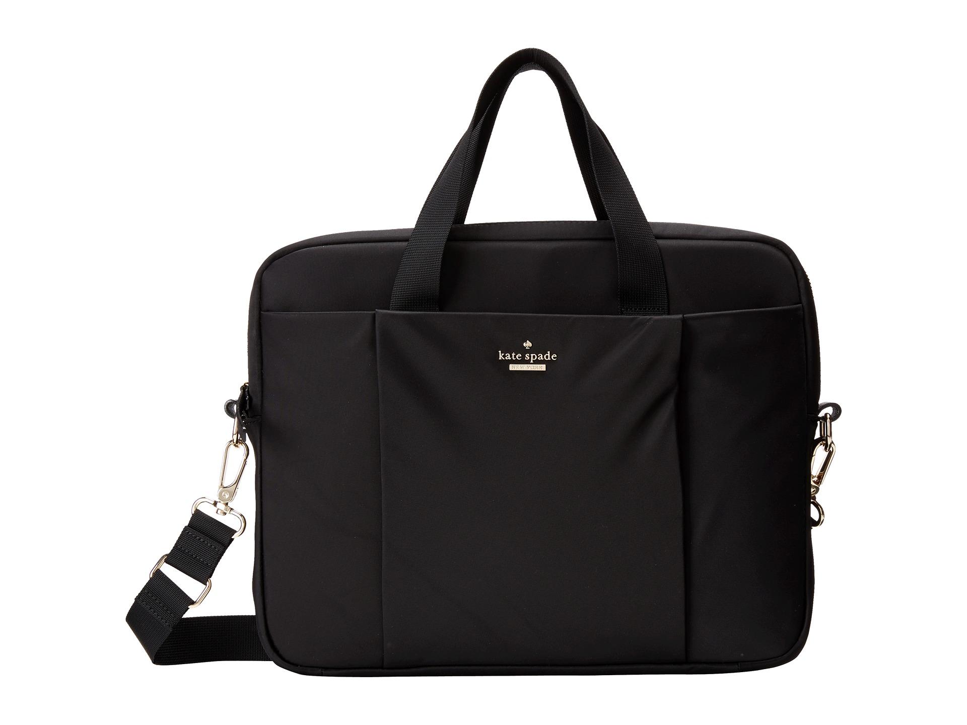 Lyst Kate Spade Classic Nylon Laptop Case 13 Quot In Black