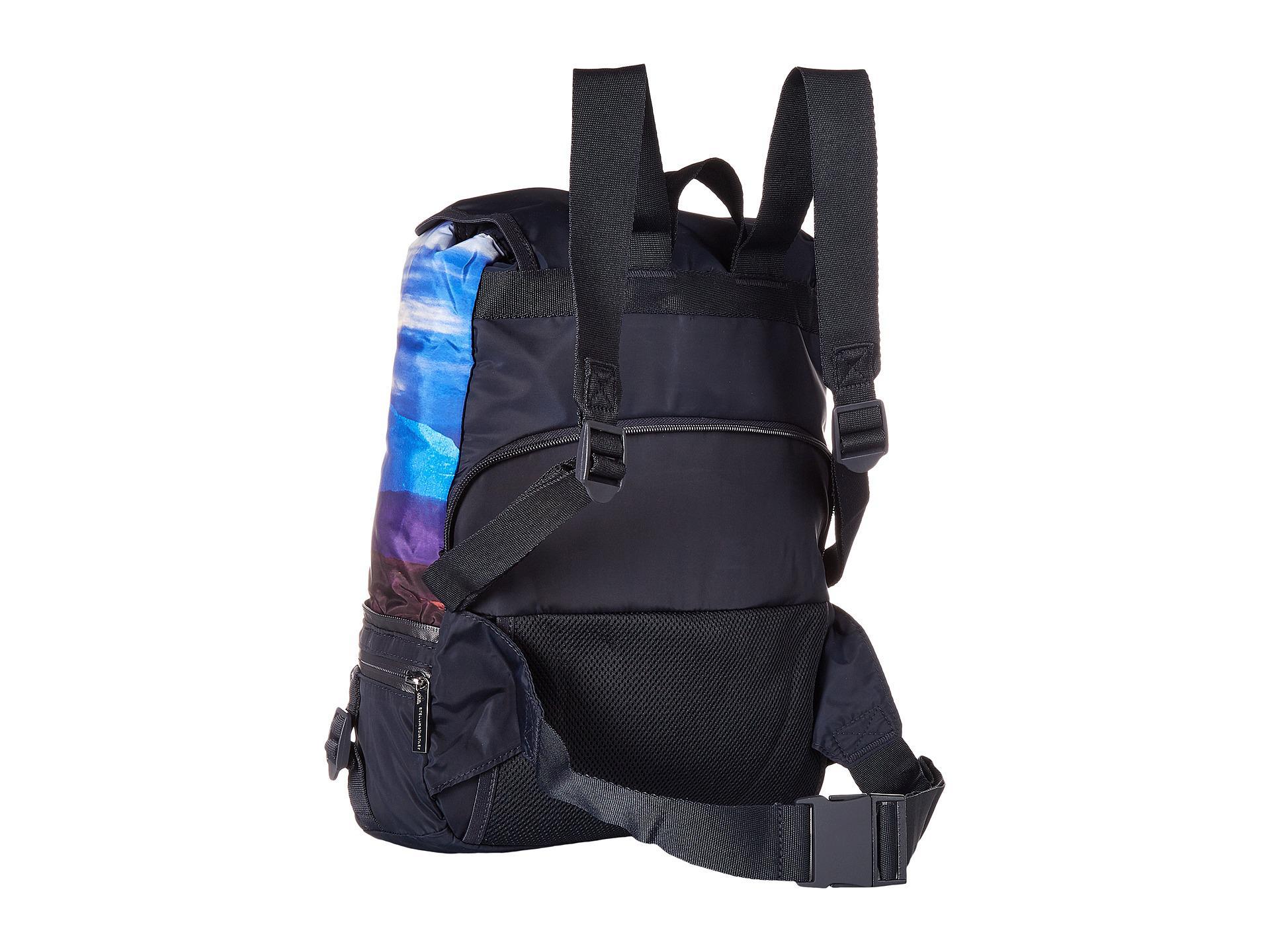 27edd68ff9a Lyst - Adidas By Stella Mccartney Convertible Backpack in Blue