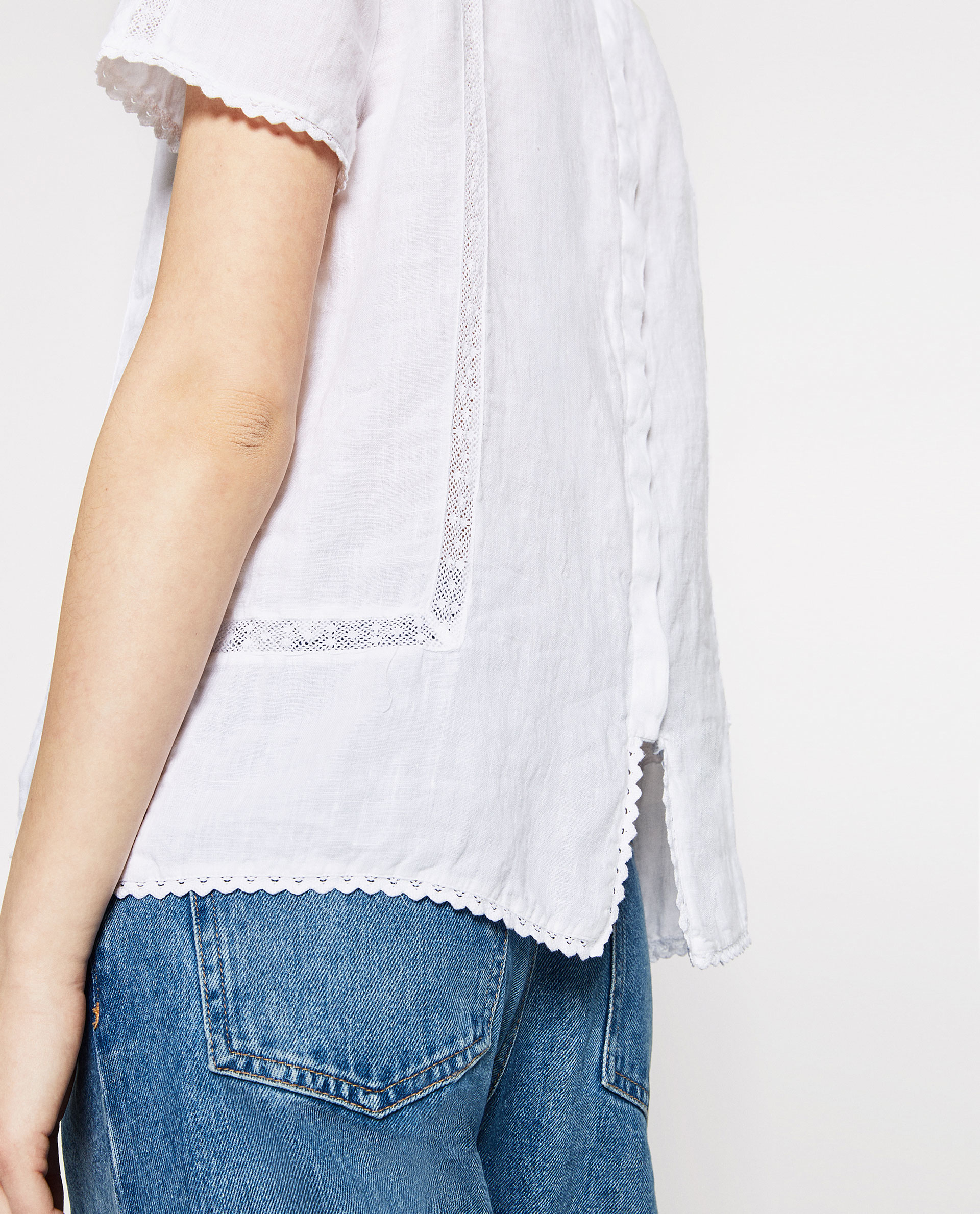 Zara Linen Blouse 51