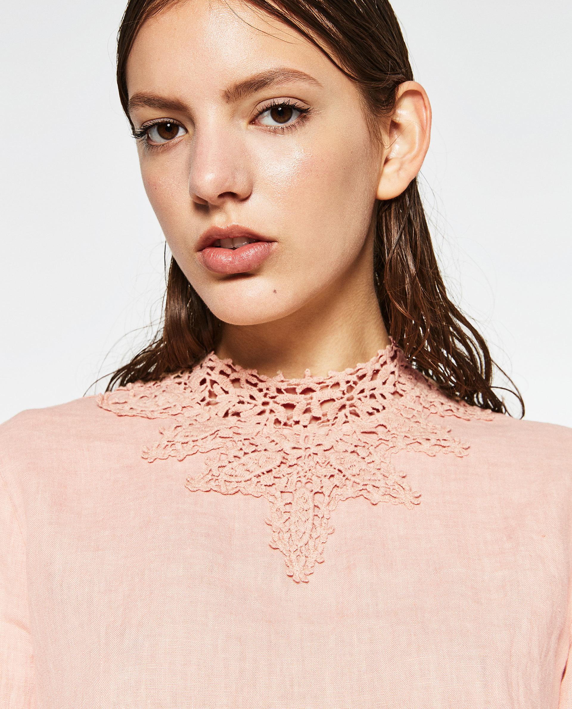 Zara Linen Blouse 108
