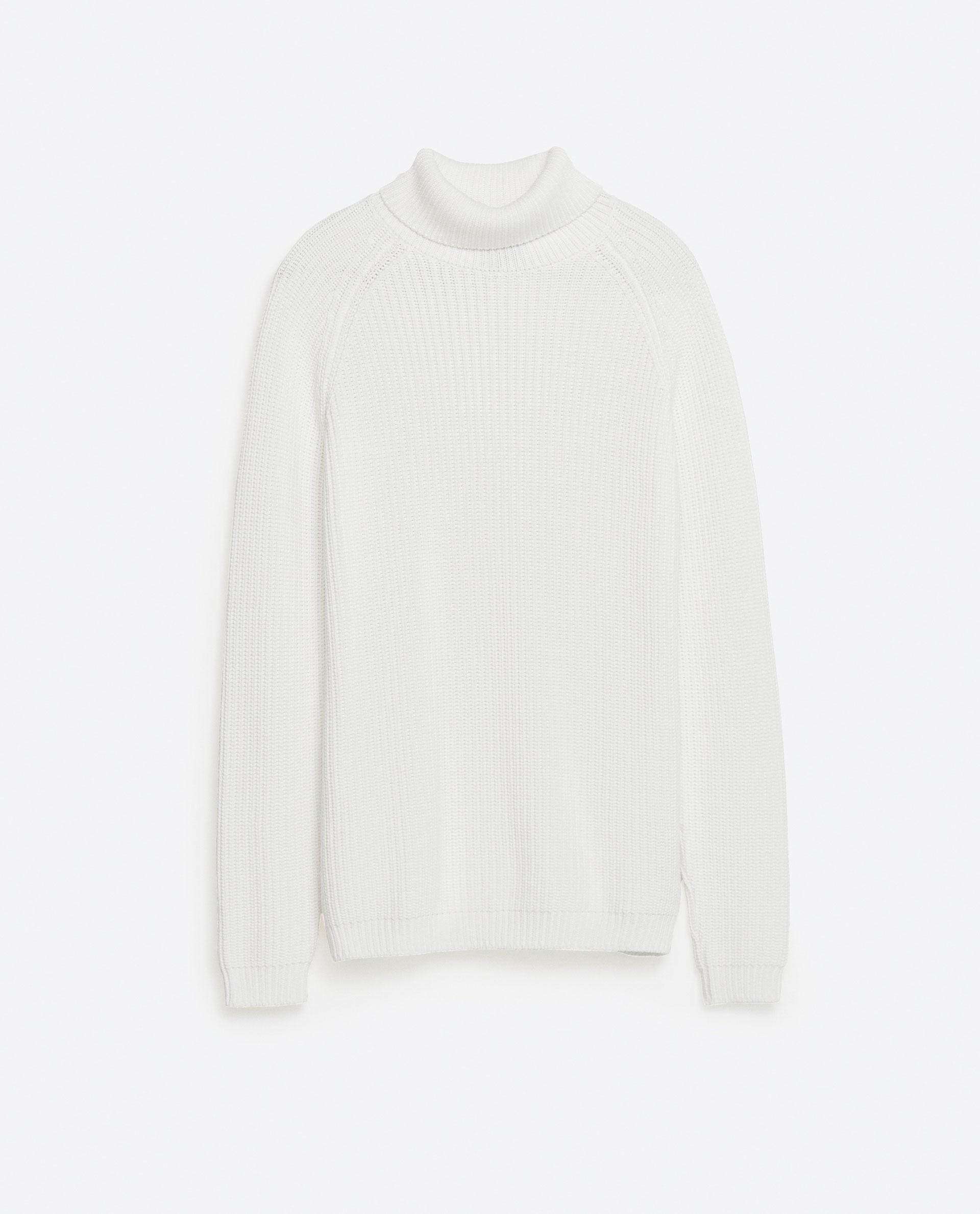 Zara Turtleneck Sweater Mens 41