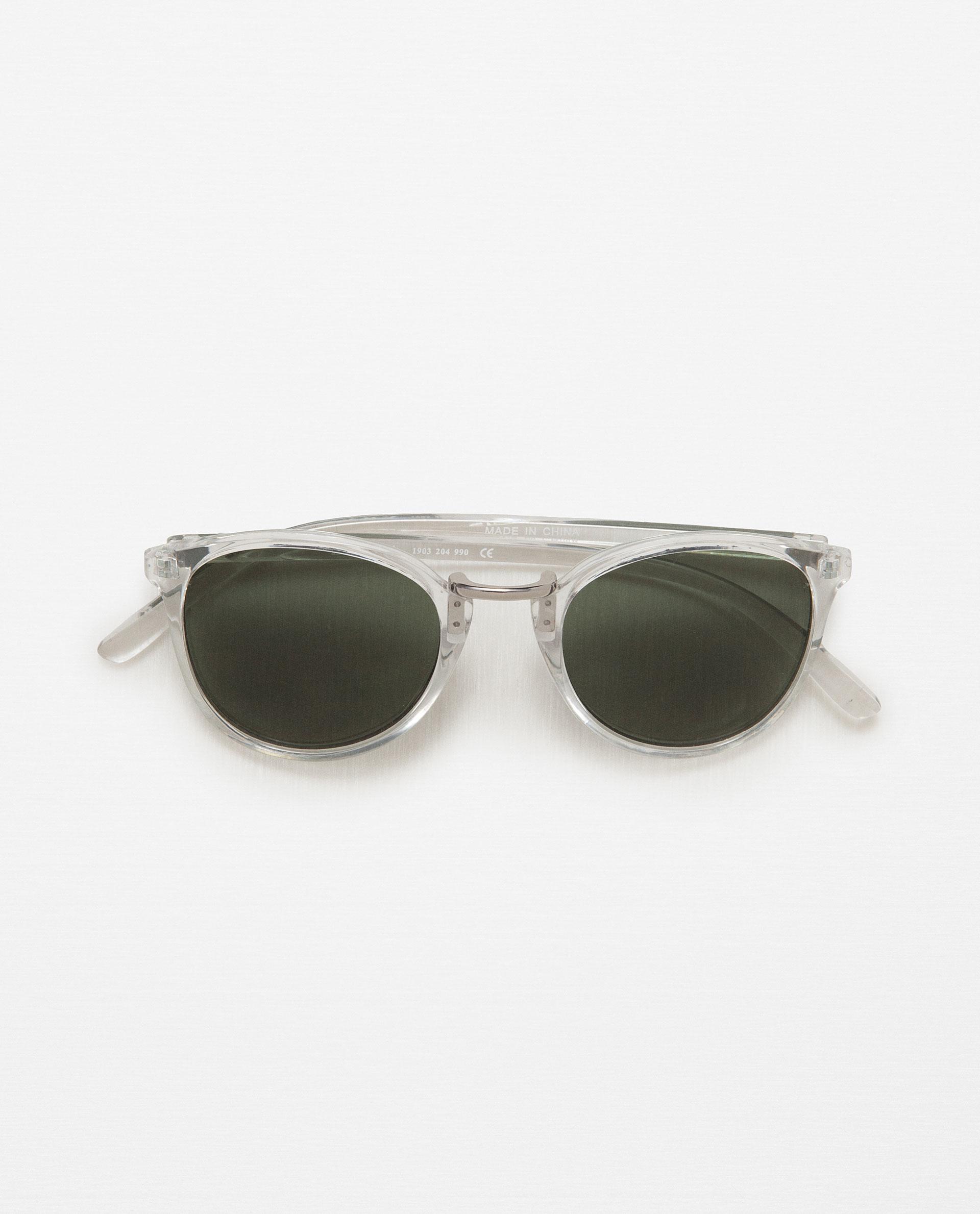 Zara Glasses Frames : Zara Glasses With Transparent Frame Lyst