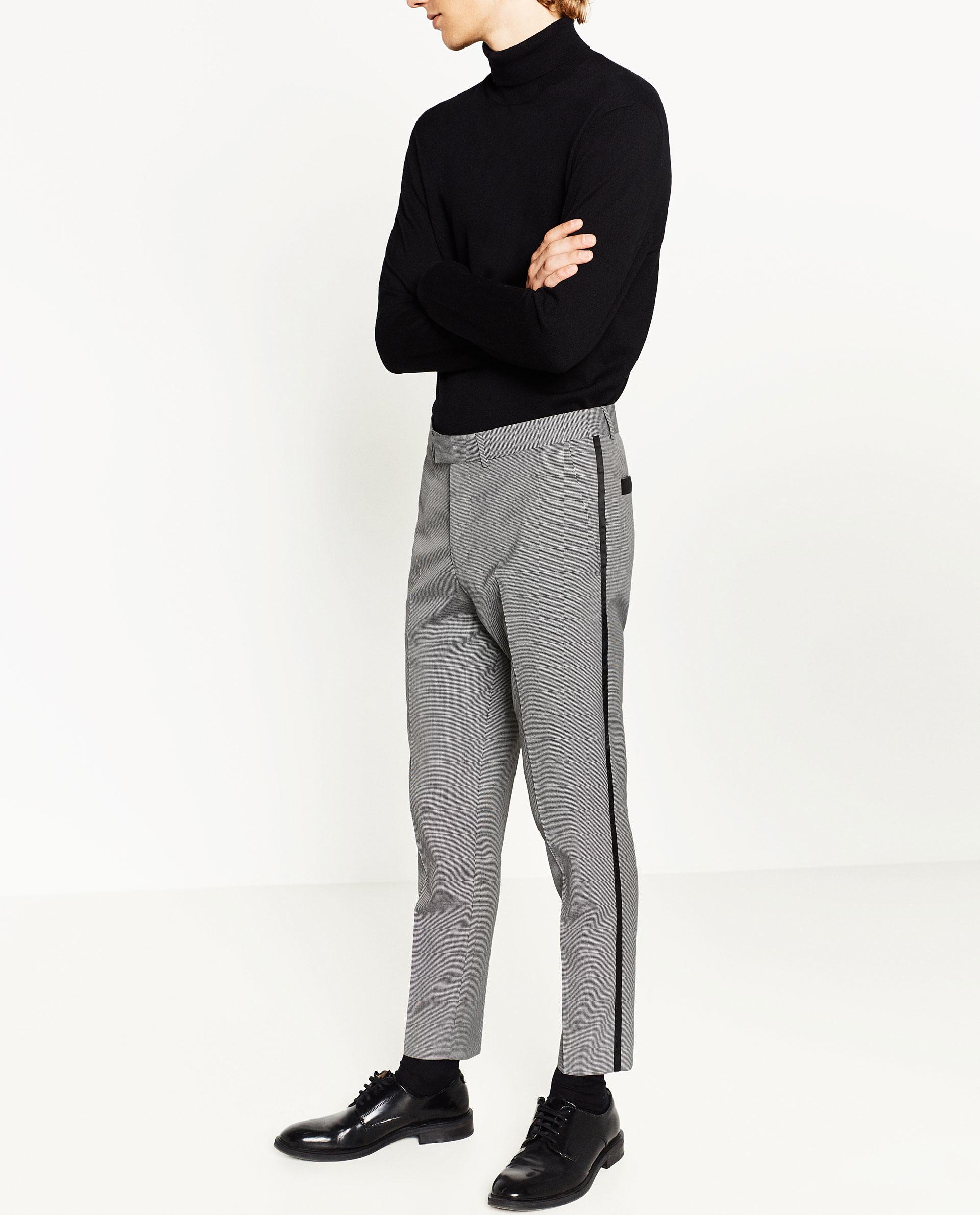 Zara Suit Trousers for Men | Lyst
