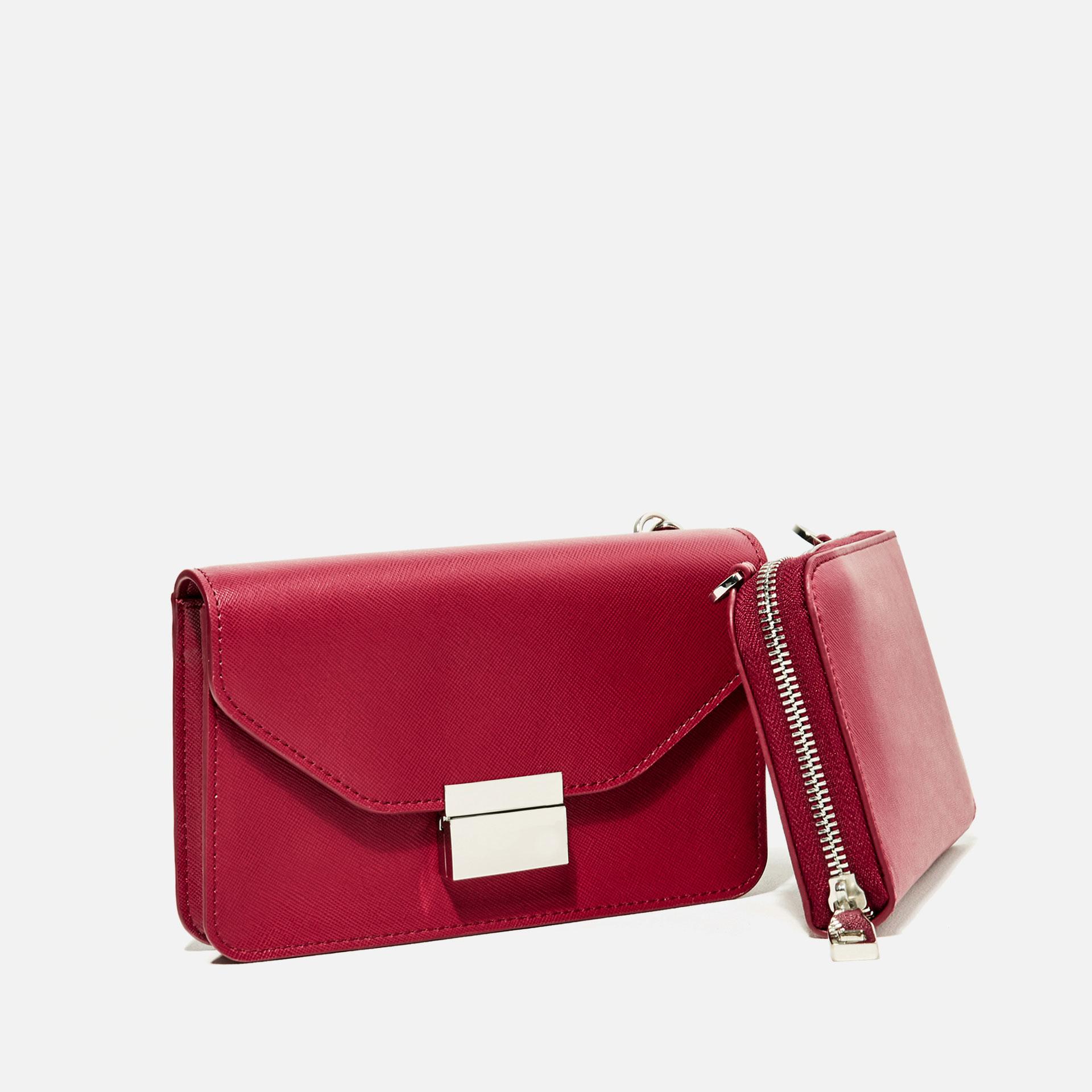 Zara Wallet Crossbody Bag | Lyst