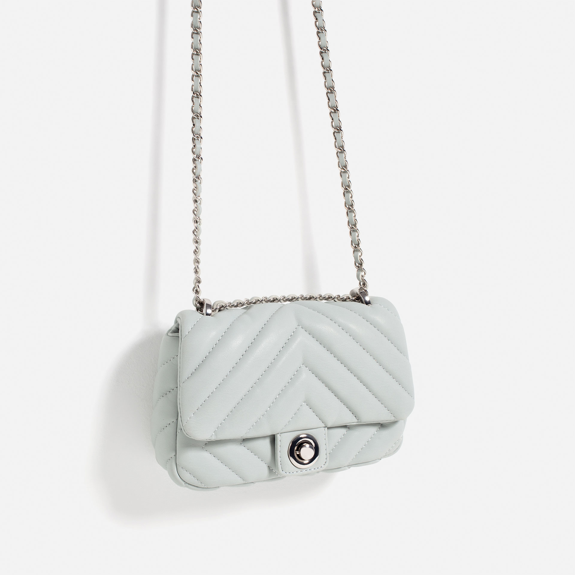 cd79af86567e77 Zara Quilted Pearly Crossbody Bag | Stanford Center for Opportunity ...