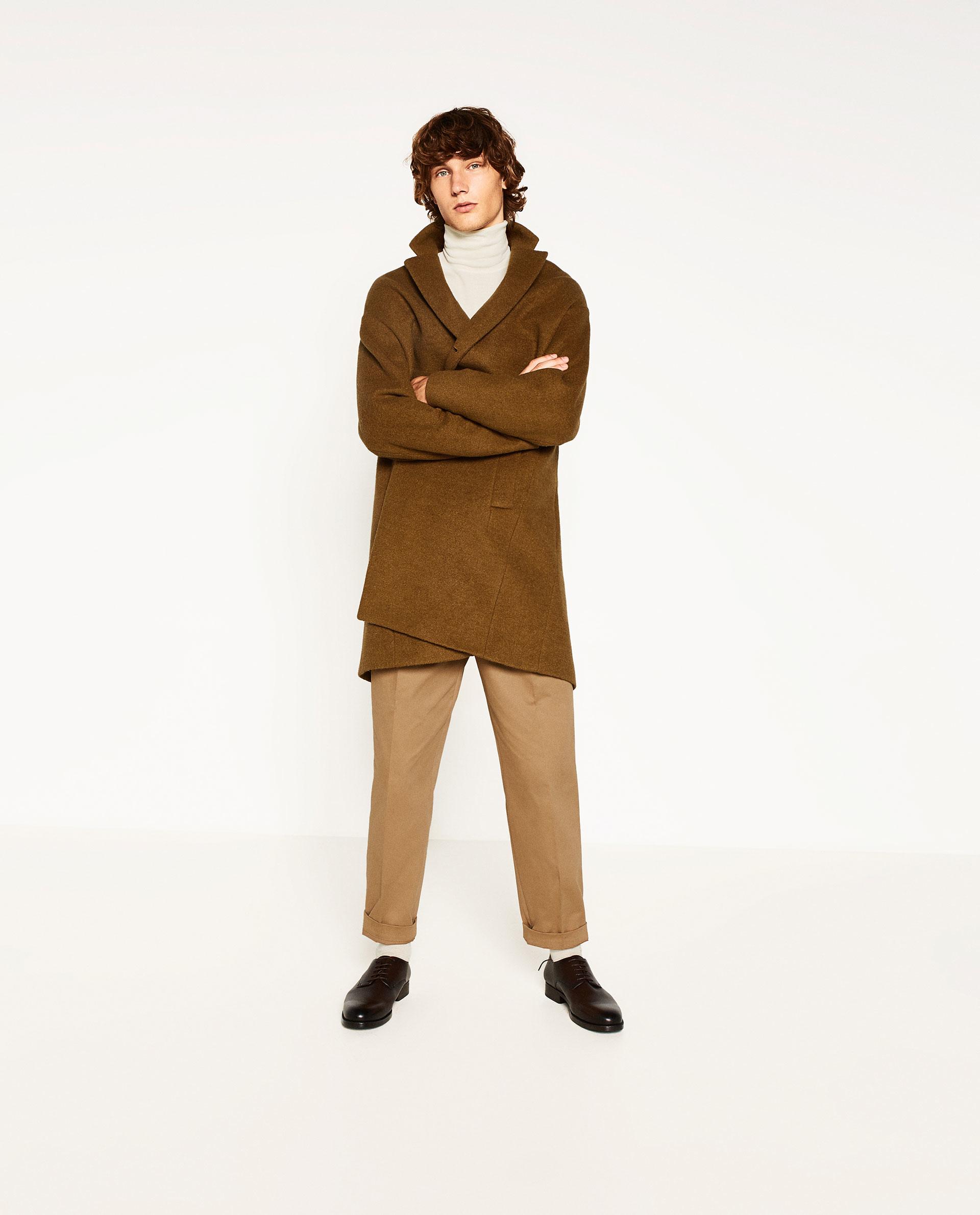 Zara overcoat