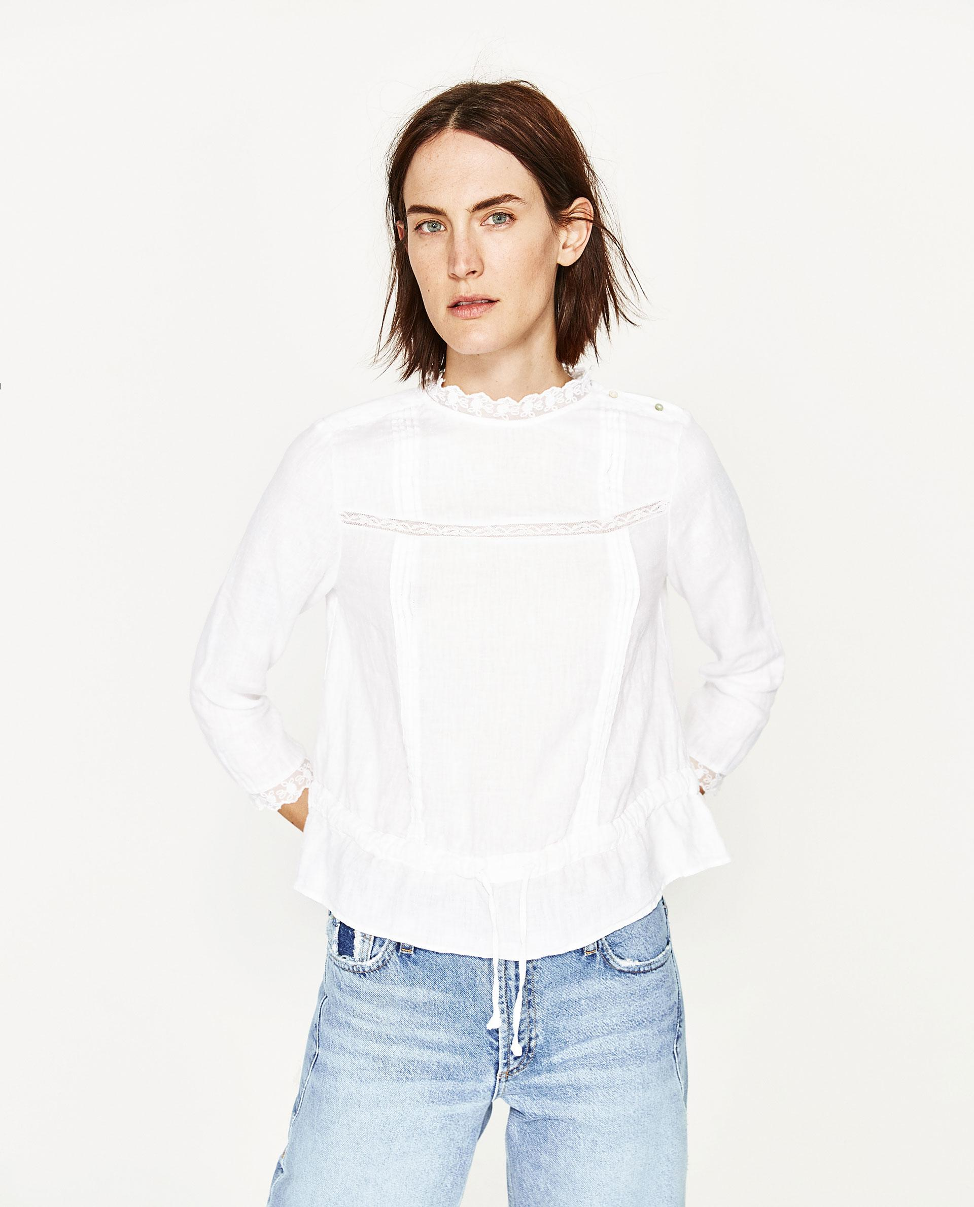 Zara Linen Blouse 13