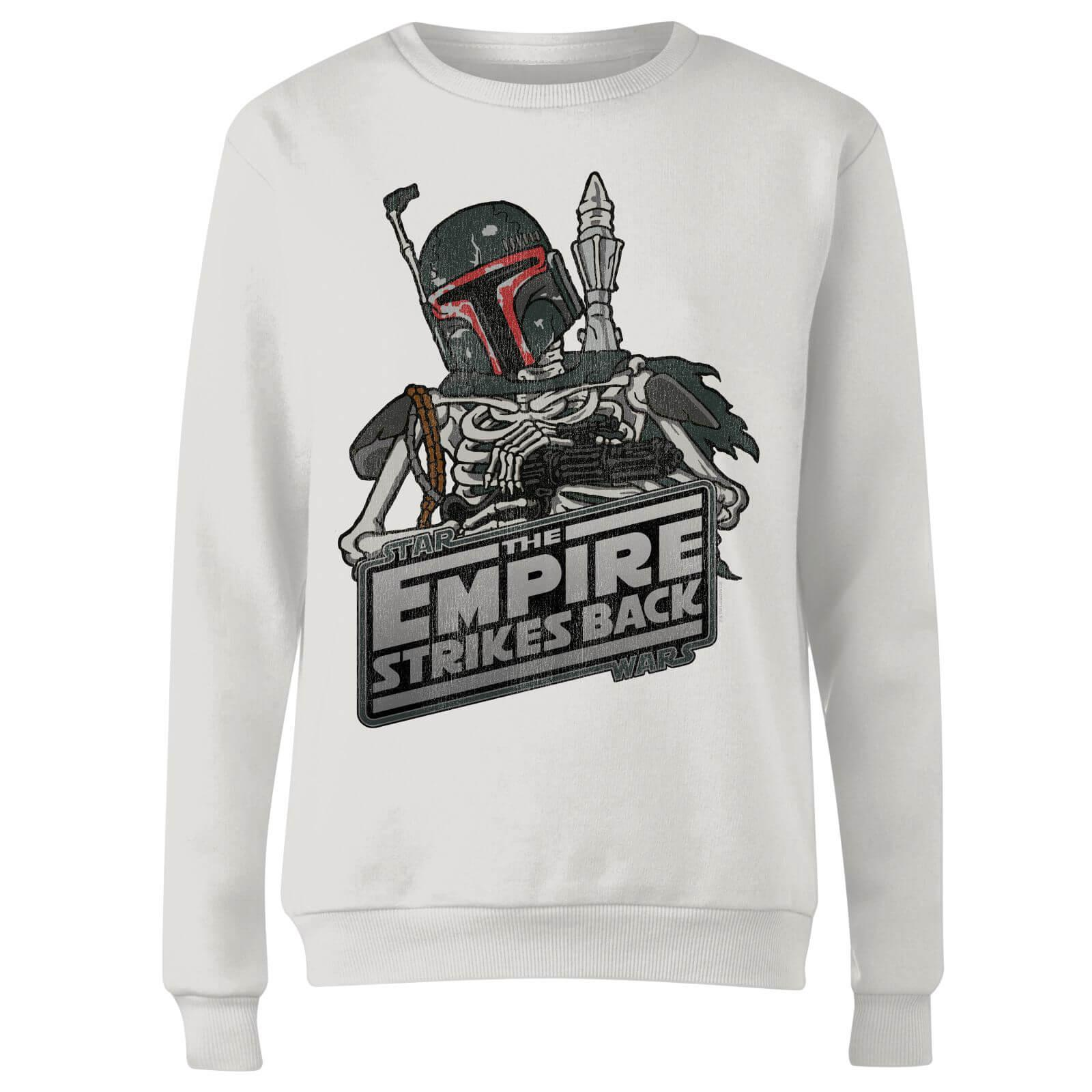 0682701a702b Star Wars Boba Fett Skeleton Sweatshirt in White - Lyst