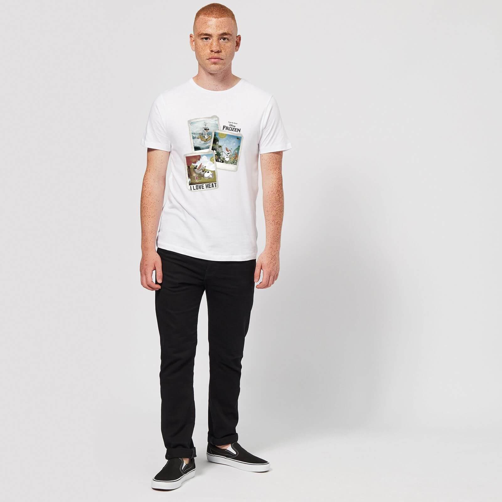 0ffd7834f2715c ... White Frozen Olaf Polaroid T-shirt for Men - Lyst. Visit Zavvi. Tap to  visit site