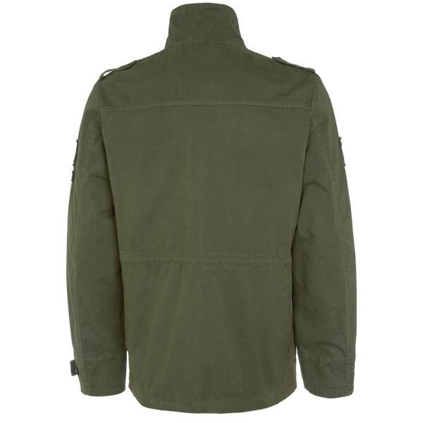 Tokyo Laundry Cotton Jenkinson Lightweight Jacket in Khaki (Green) for Men