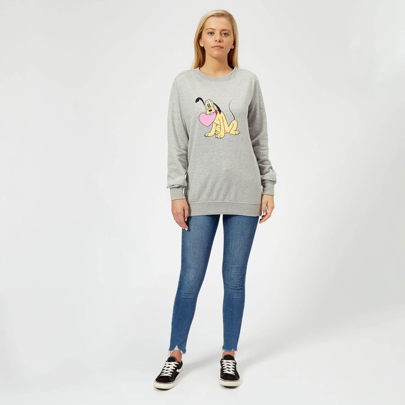 Disney Girls Pluto Love Heart Hoodie