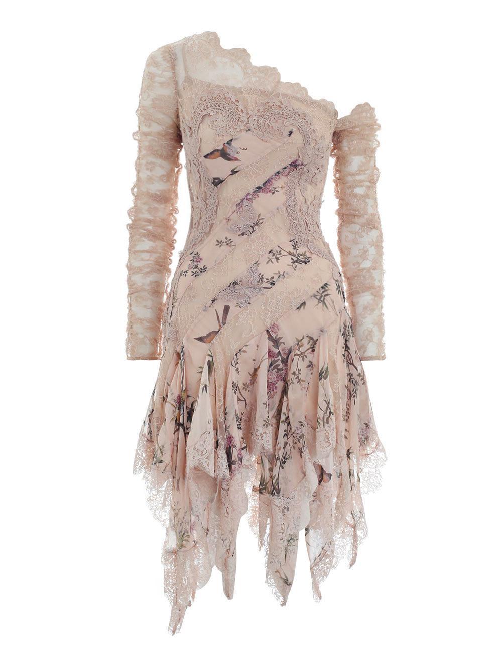 9db3b17c6957 Lyst - Zimmermann Maples Temperance Mini Dress